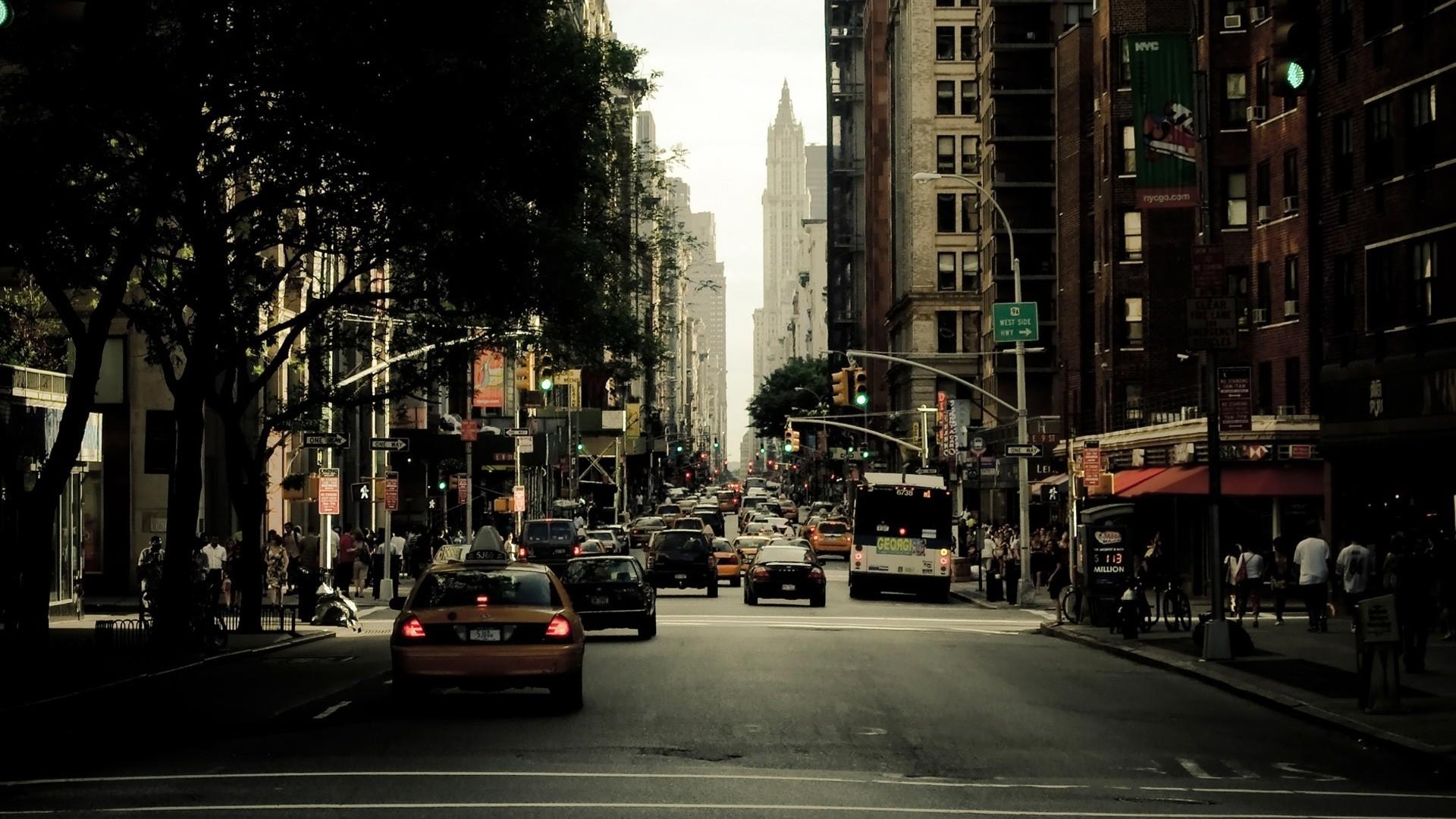 HD New york city street wallpaper.