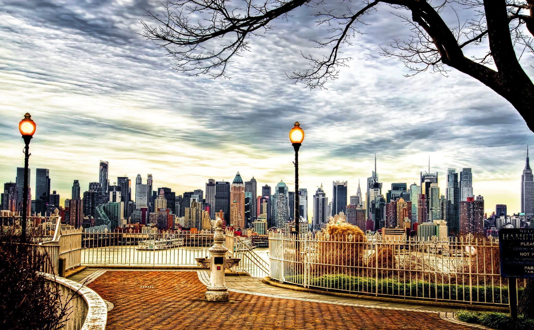 new york city street wallpaper photo