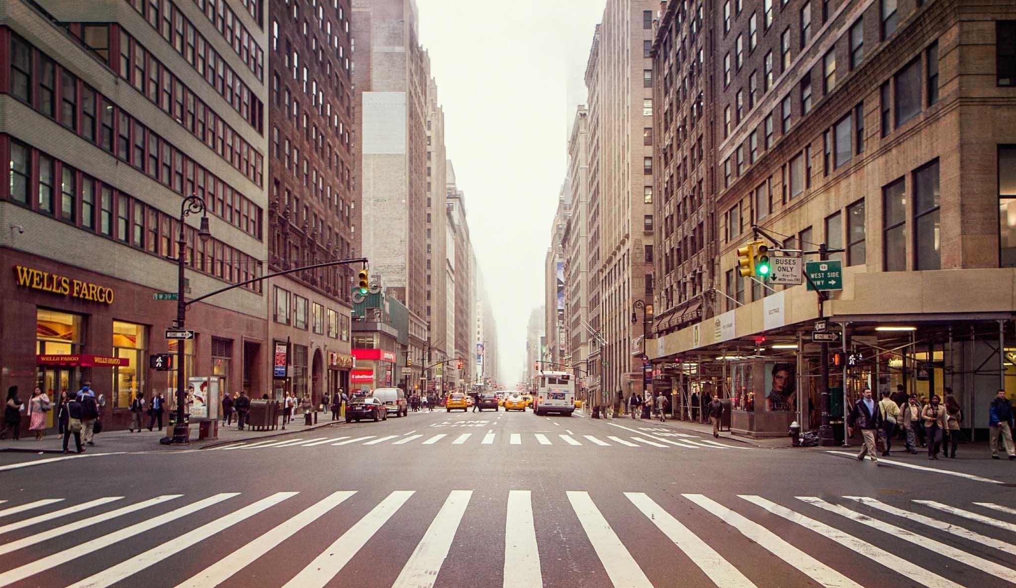 new-york-city-road-zebra-crossing-street-photo-wallpaper. Â«Â«