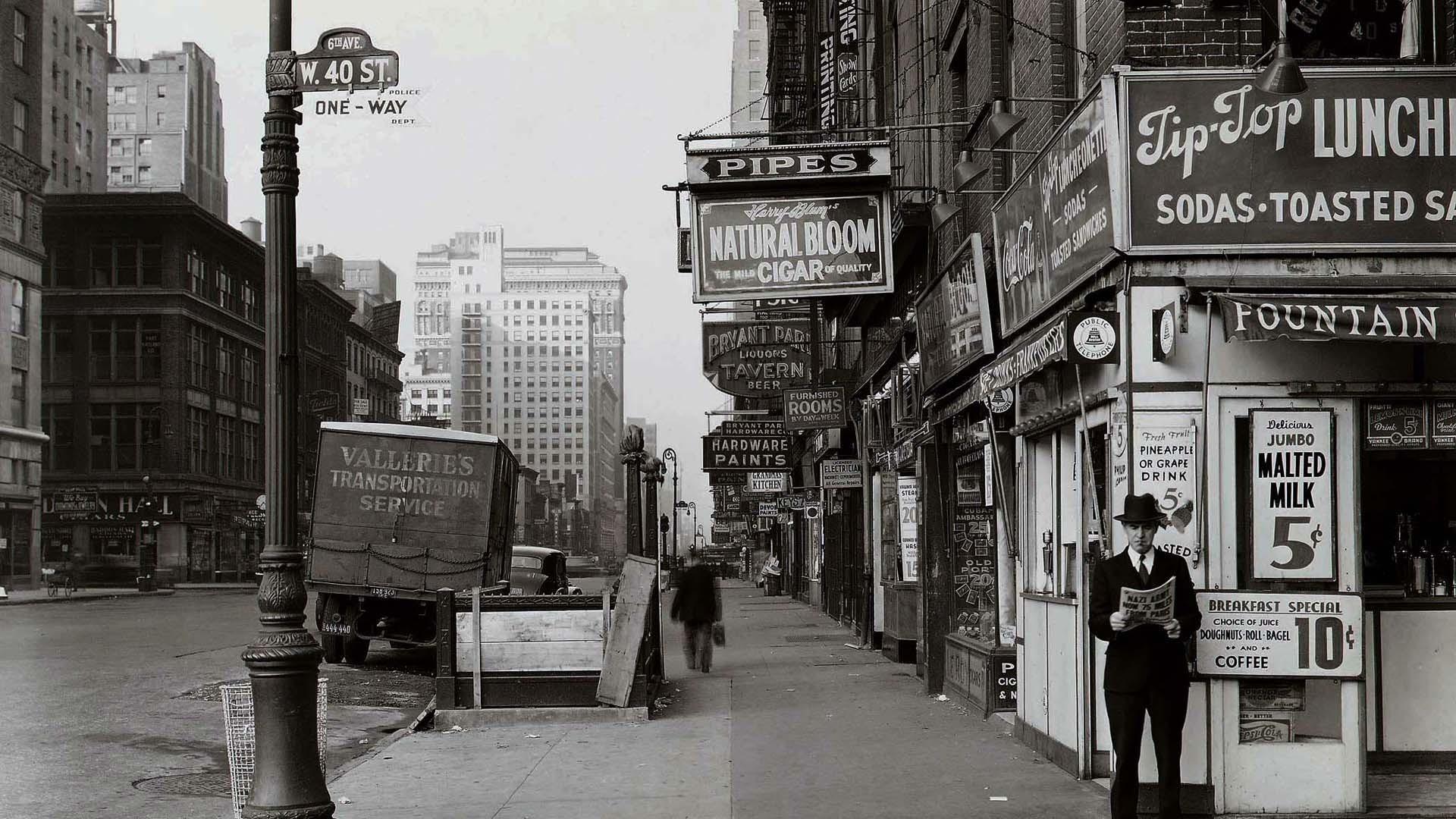 New York City 1940 Desktop Pc And Mac Wallpaper