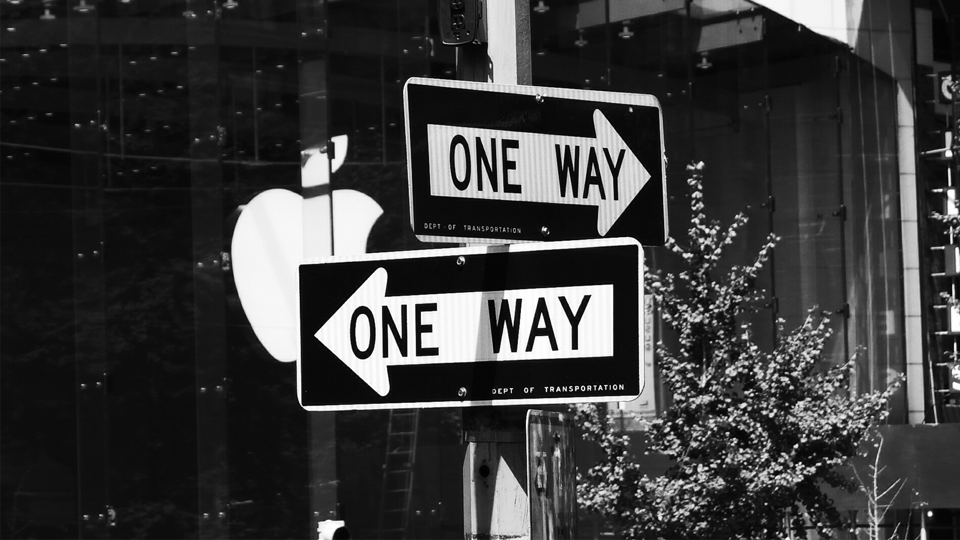 New York City Street Sign HD Wallpaper 1920×1080