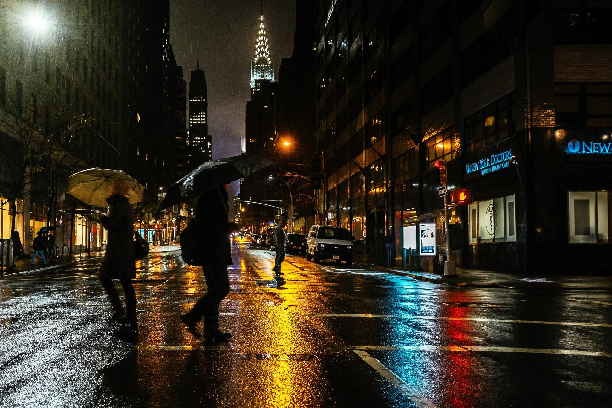 … women men city umbrella rain new york city wallpapers hd …