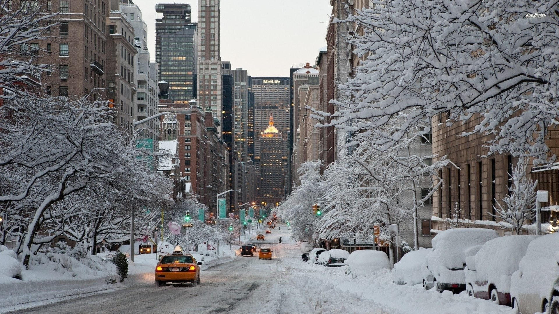 Winter In New York City …