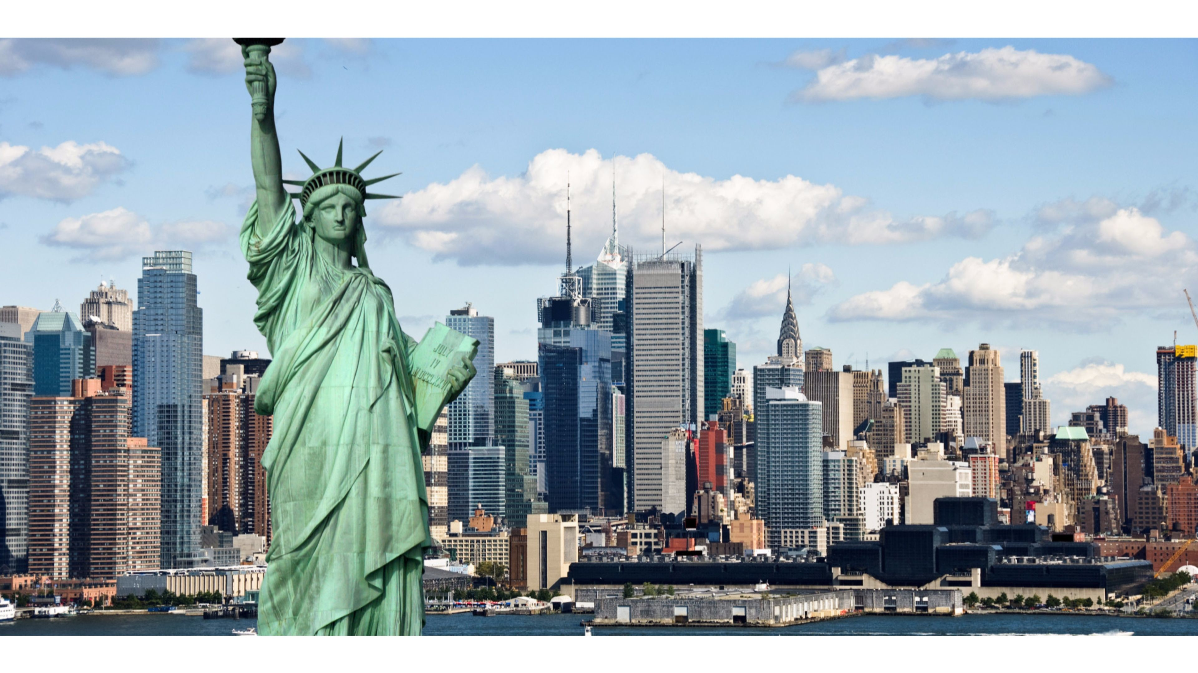 Statue of Liberty New York City 4K Wallpaper