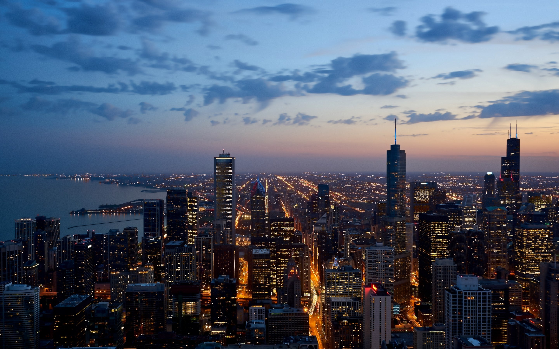 4K HD Wallpaper: Chicago Skyline · Free Cityscape Photo by Dimitry Anikin