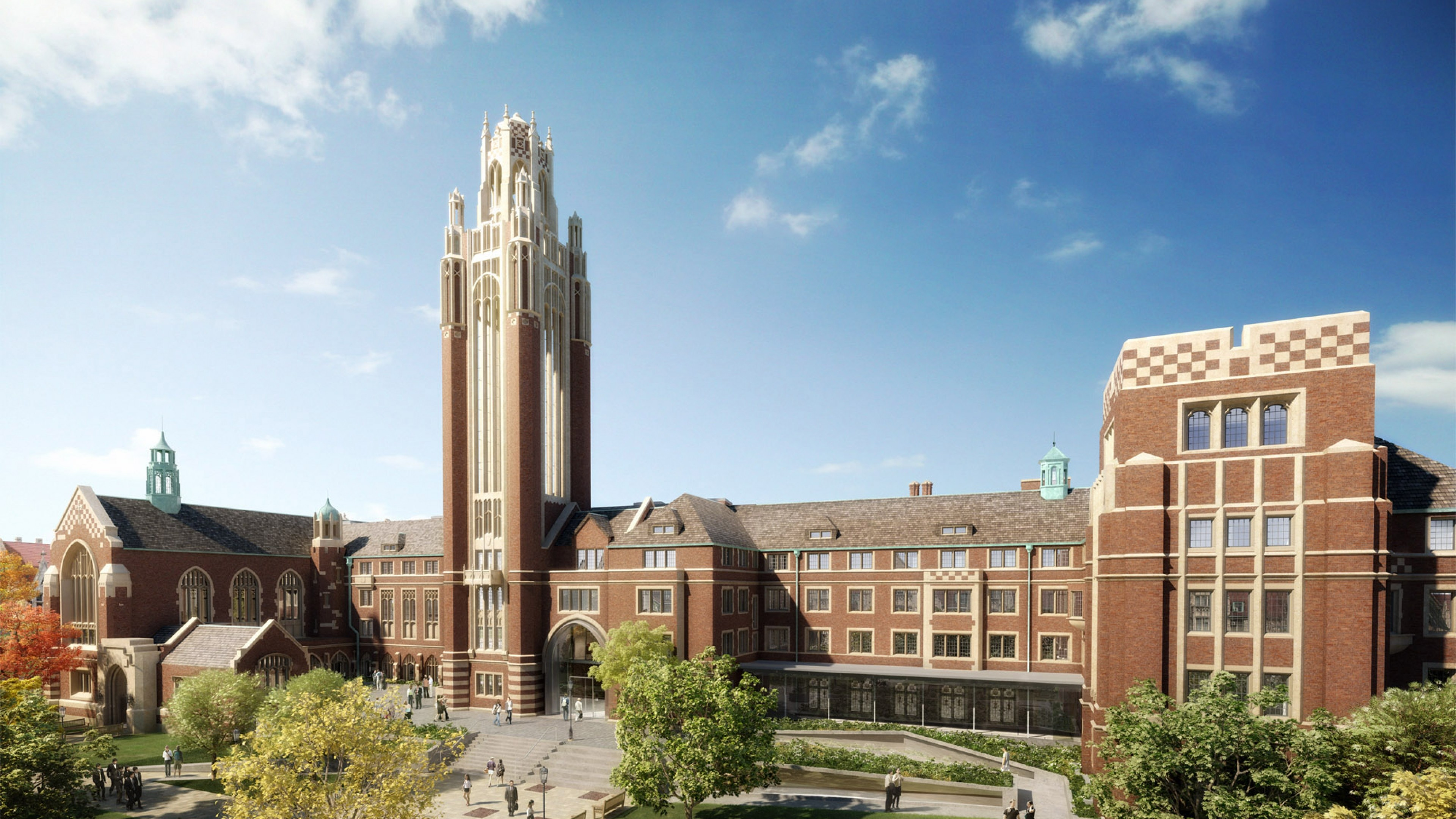 Wallpaper university of chicago, chicago, illinois