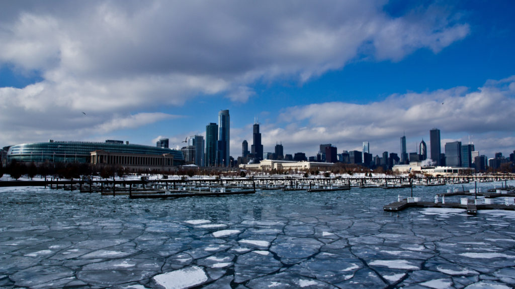 Chicago USA 4k HD Wallpaper