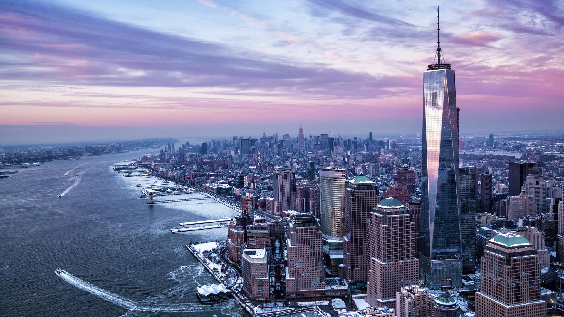 One World Trade Center timelapse video | Download Wallpaper | Pinterest | Trade  centre and Wallpaper