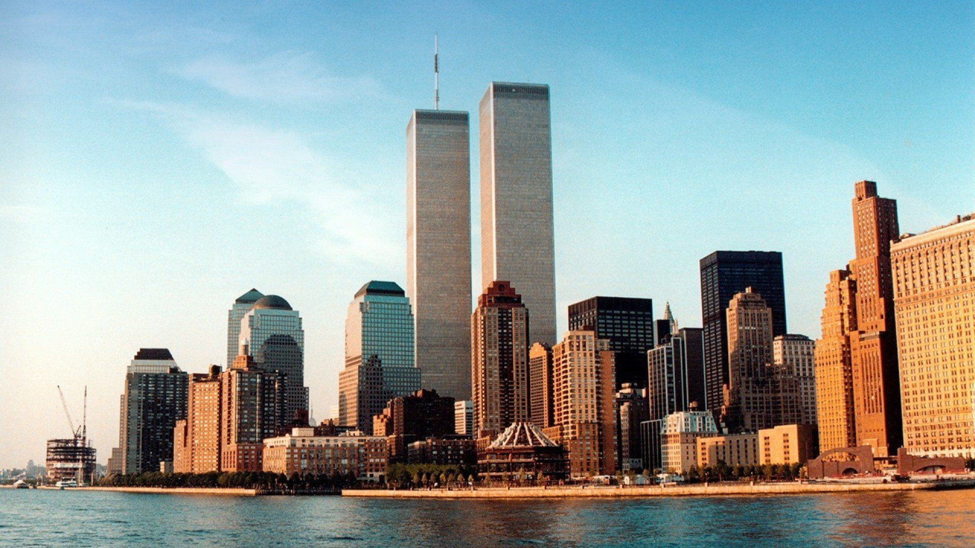 WTC WORLD TRADE CENTER skyscraper city cities building new york .
