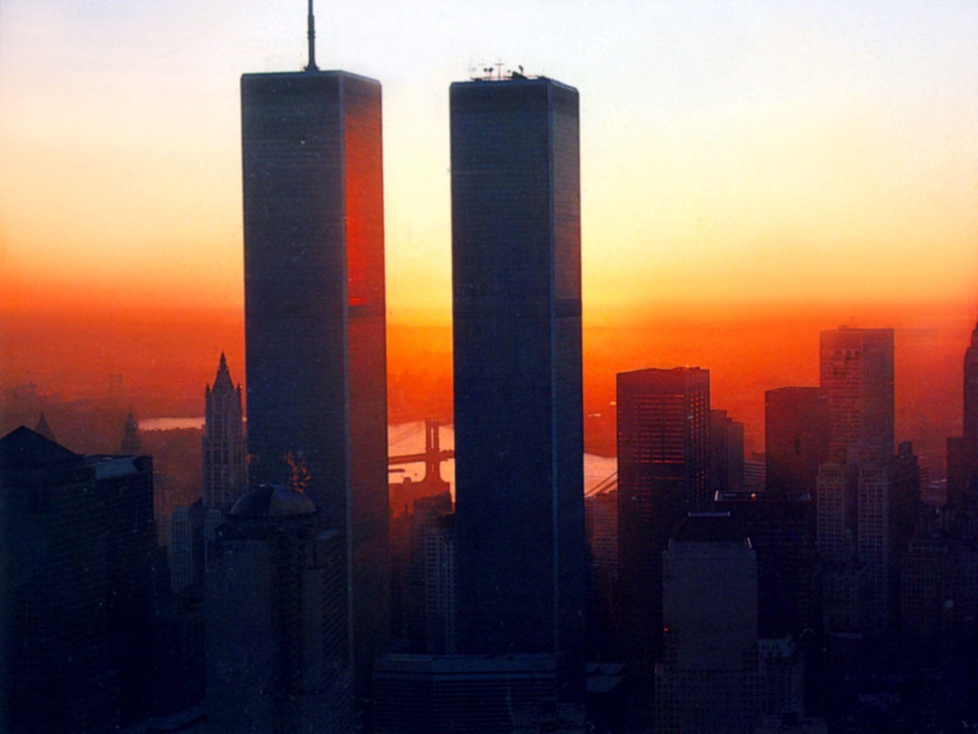 HD World Trade Center Sunset Wallpaper | Download Free – 57423