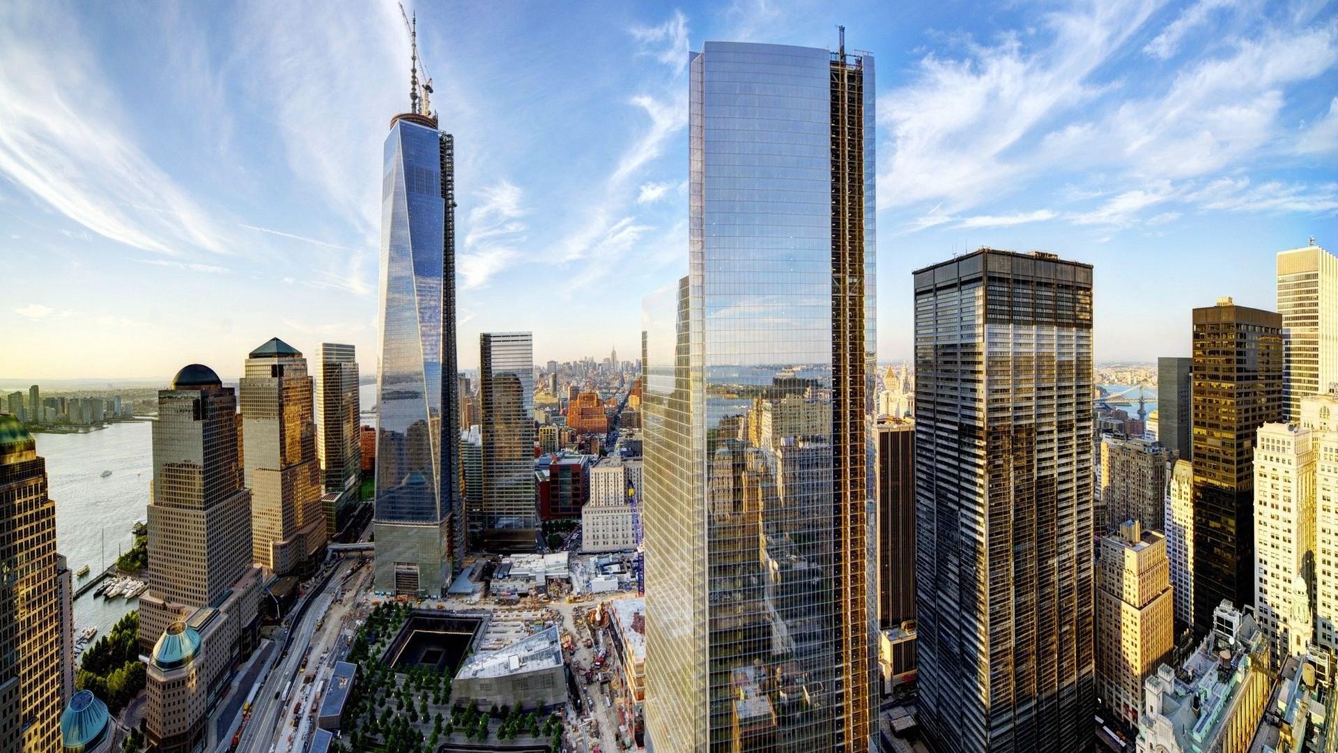 WTC WORLD TRADE CENTER skyscraper city cities building new york wallpaper |  | 420085 | WallpaperUP