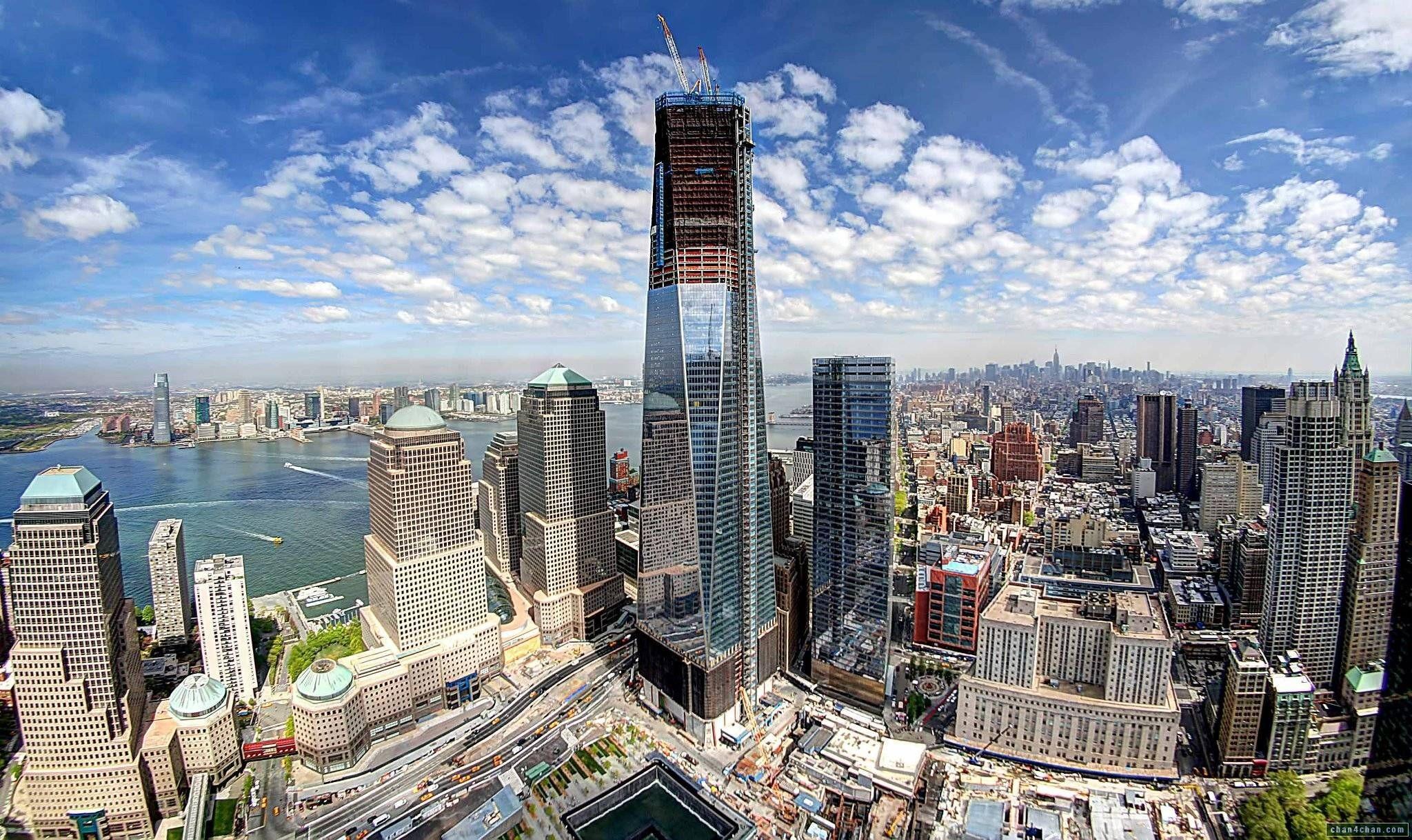 World Trade Center Skyline Wallpaper