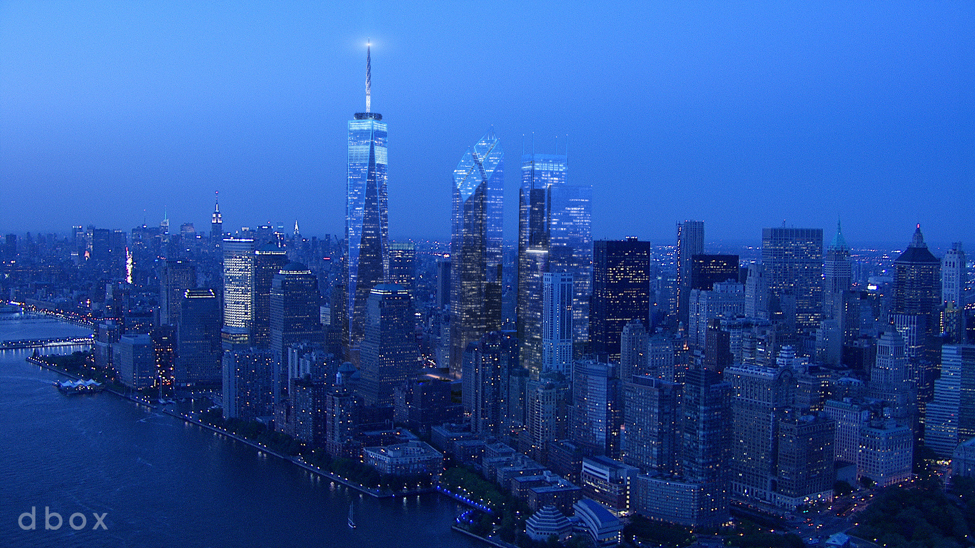 New WTC, rendering by Dbox (its big, sorry)