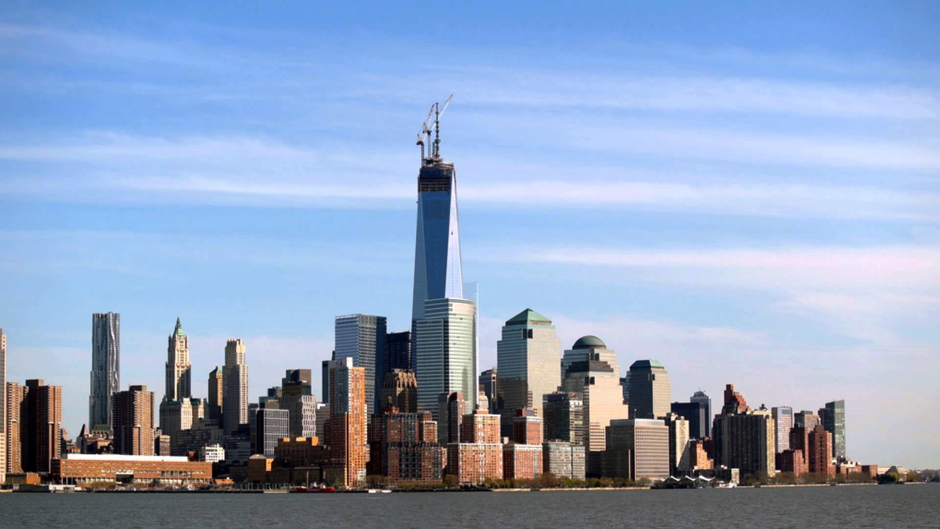 One World Trade Center- May 2013 Update- ANTENNA COMPLETED!!! – YouTube