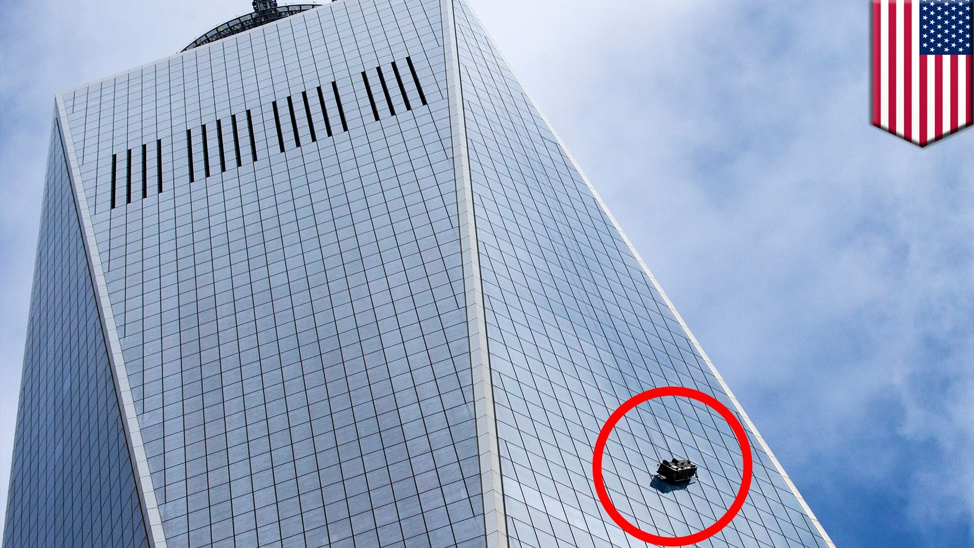 WTC One accident: Window washers left dangling from 1 World Trade Center's  69th floor – YouTube