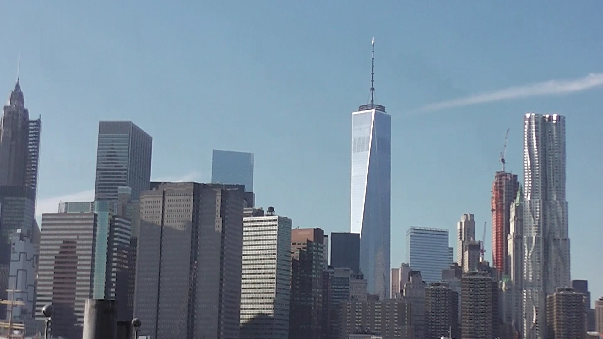 One World Trade Center / Freedom Tower 1/23/2015 construction progress part  4 – YouTube