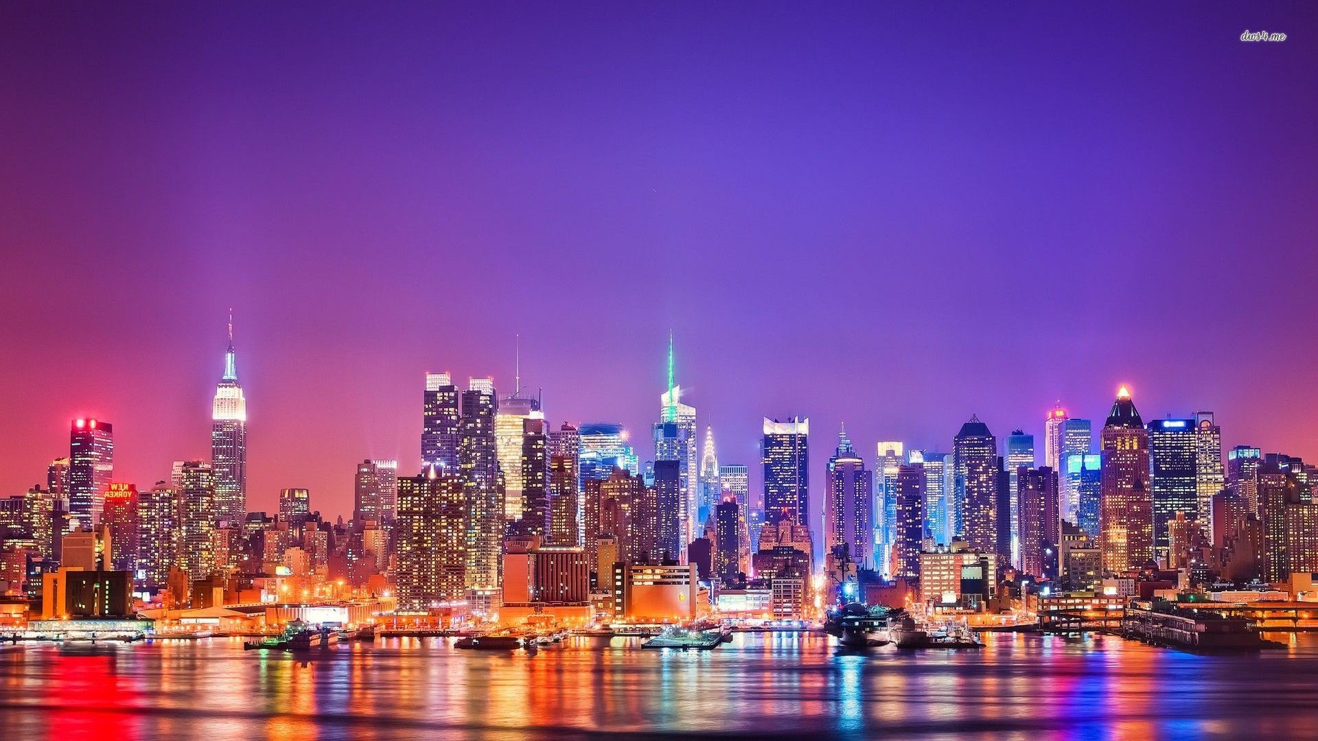New York Skyline Hd Wallpaper – DriverLayer Search Engine