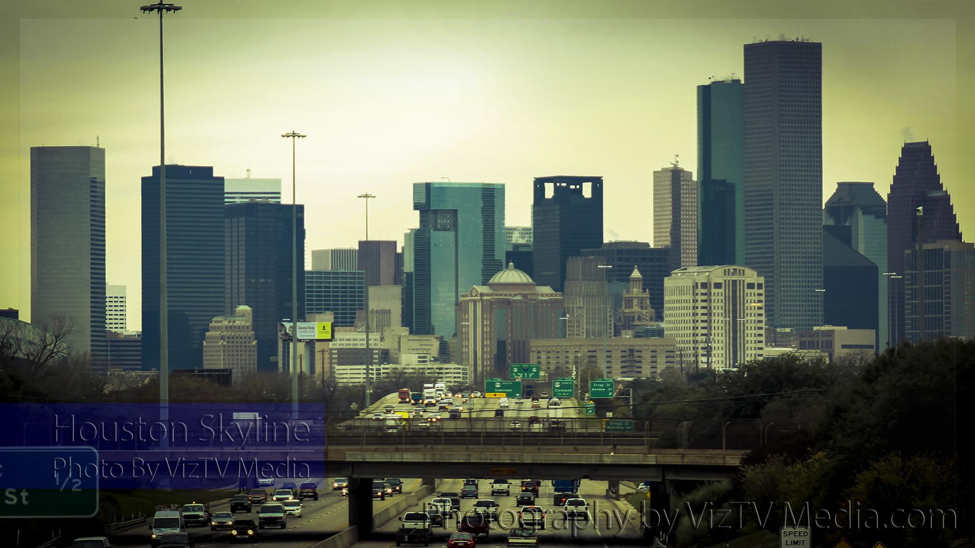 Houston Skyline Desktop Wallpaper