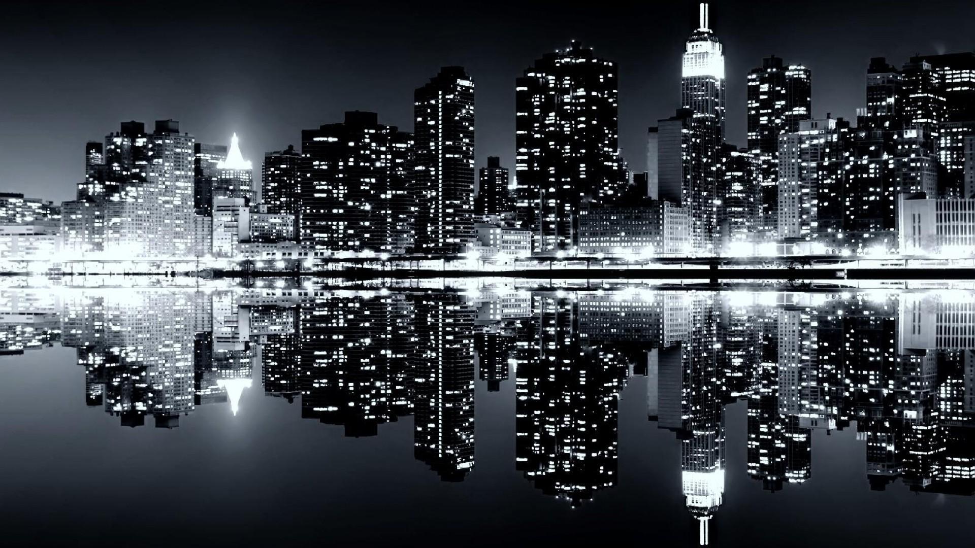 New York Skyline Wallpaper Black And White wallpaper – 1115517