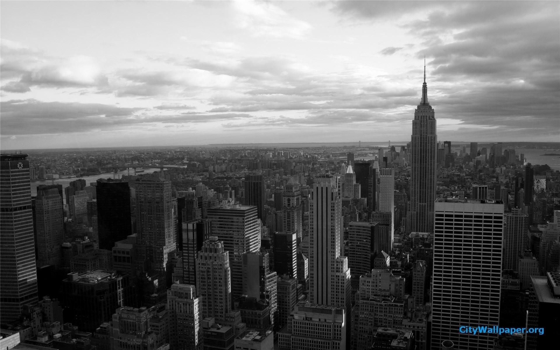 New York City Wallpaper Black And White Wallpaper