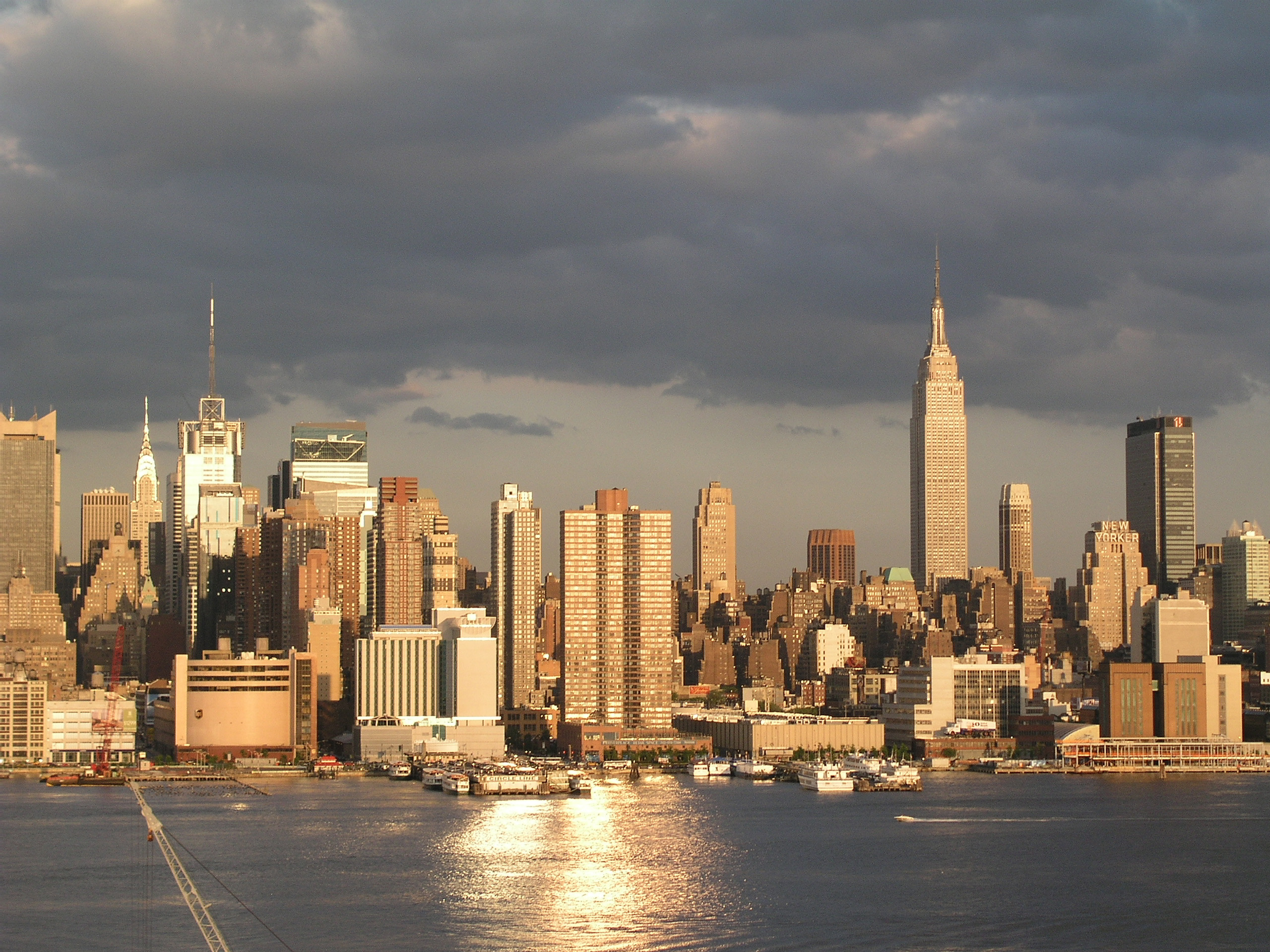 Manhattan nyc skyline