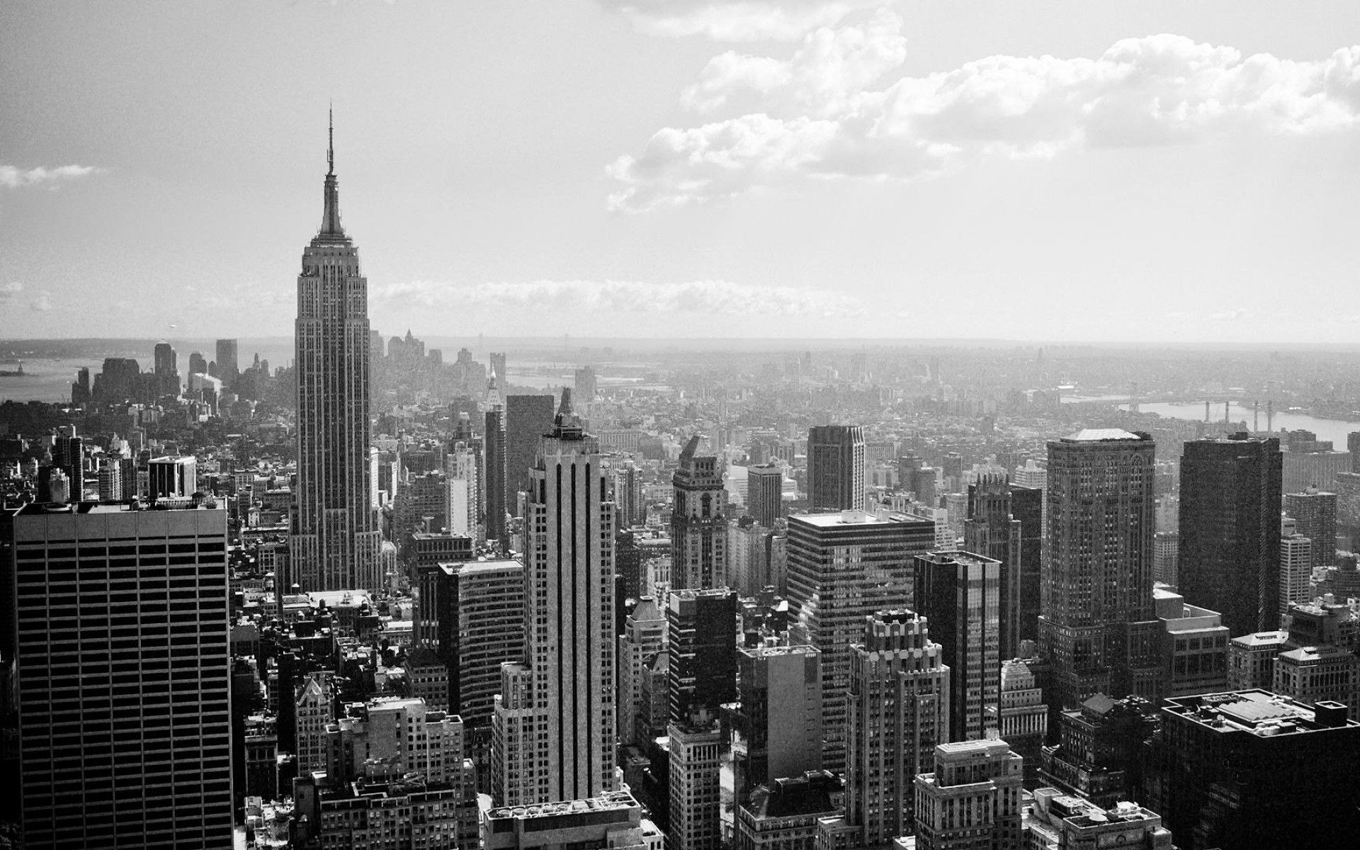 Black And White New York Wallpaper – Widescreen HD Wallpapers