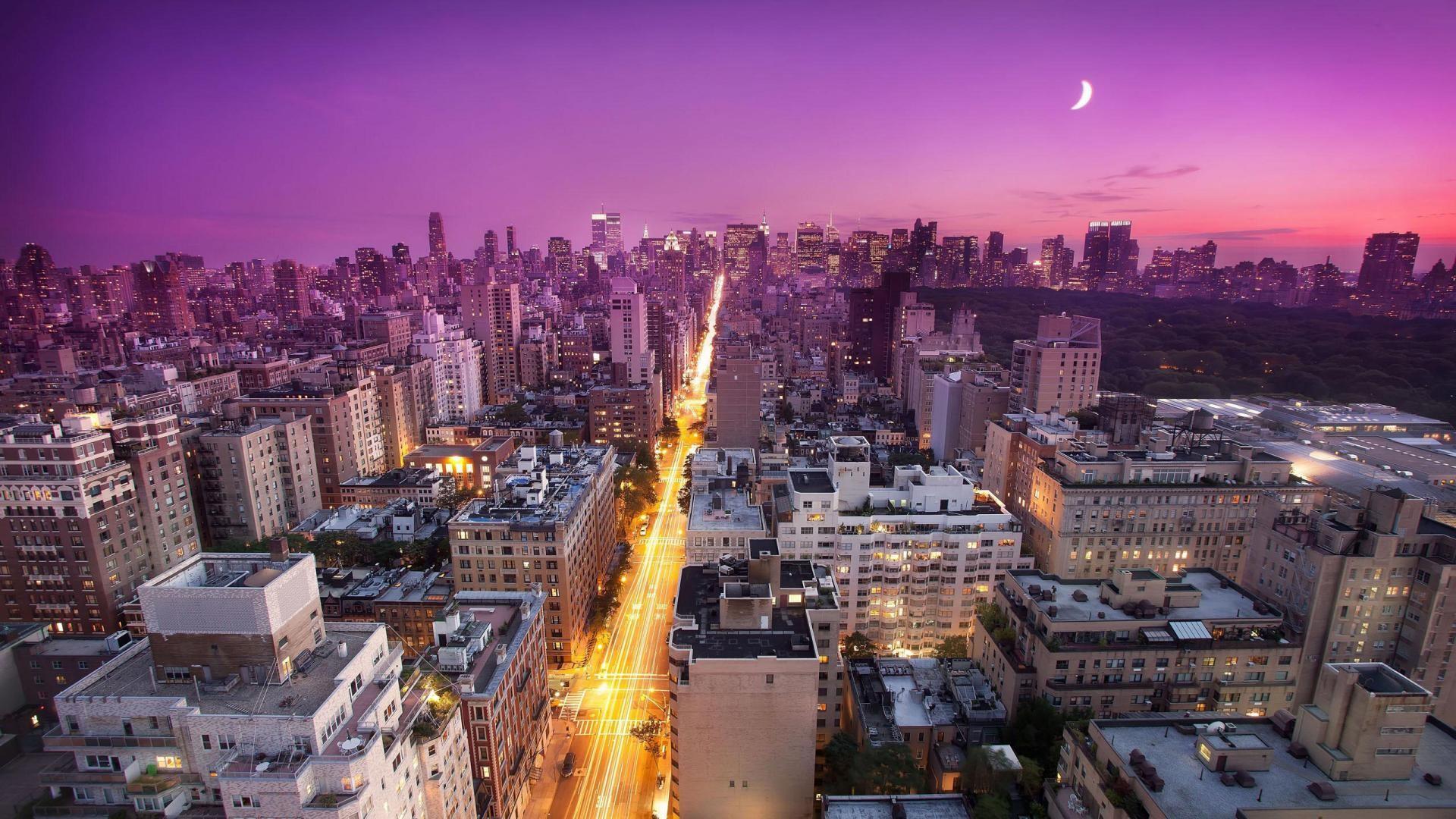 New York City Skyline HD Wallpaper