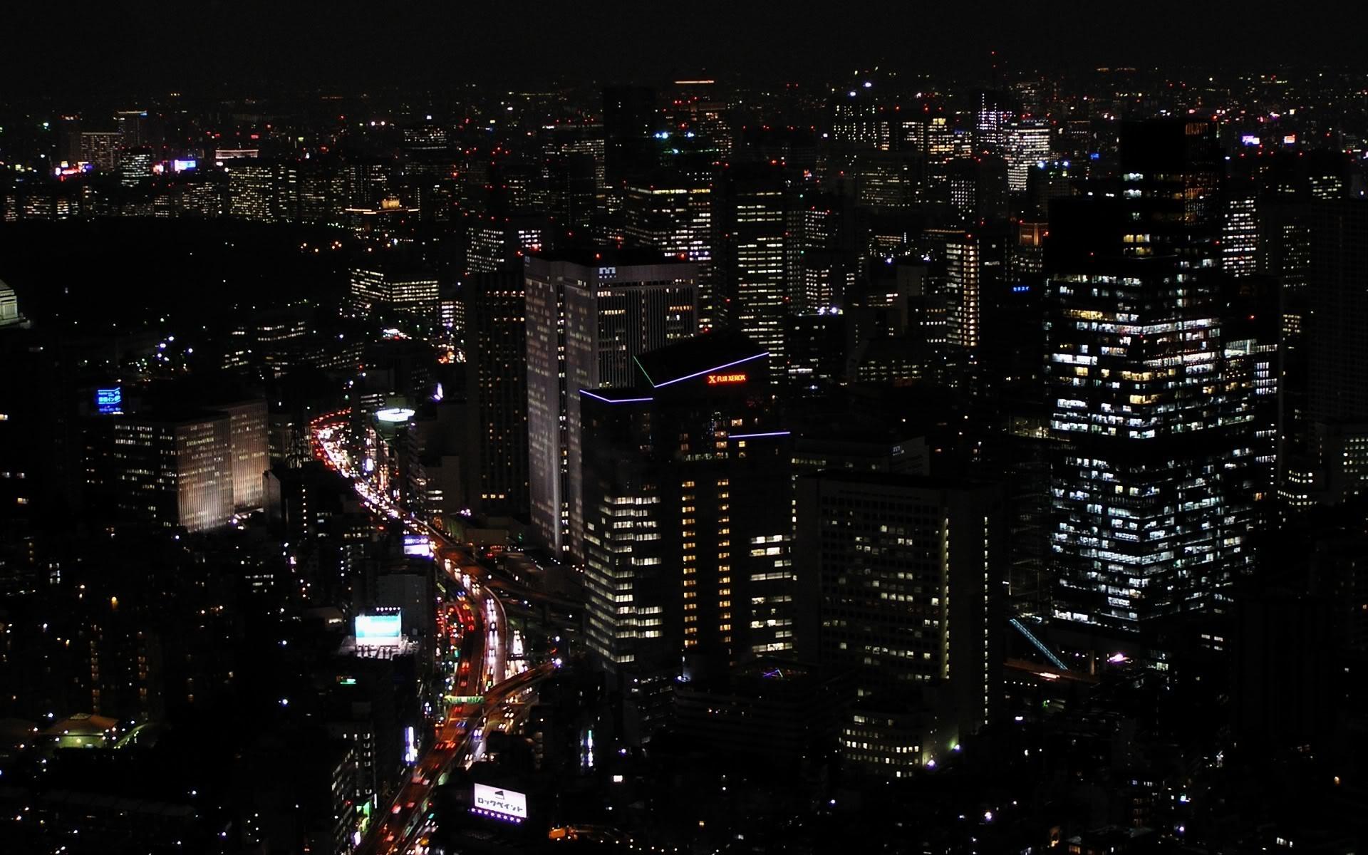 Desktop Fun: Cities at Night Wallpaper Collection Series 1