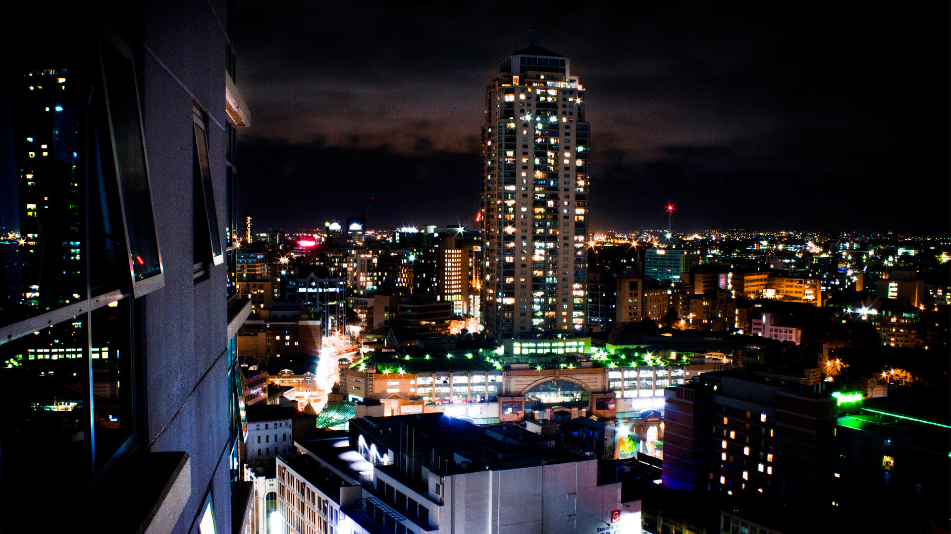 Sydney City Night Wallpaper