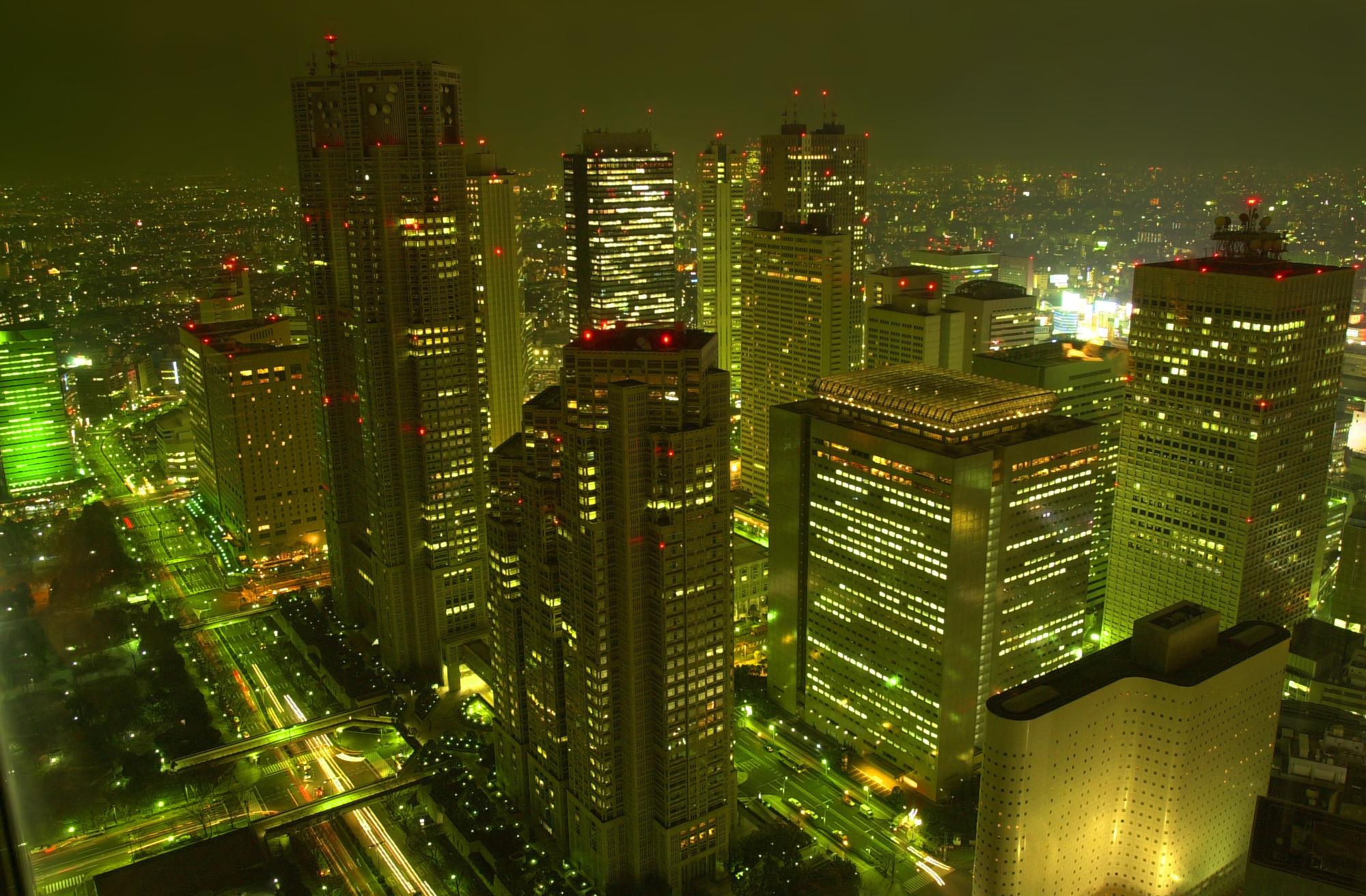 Tokyo at Night Wallpaper – WallpaperSafari