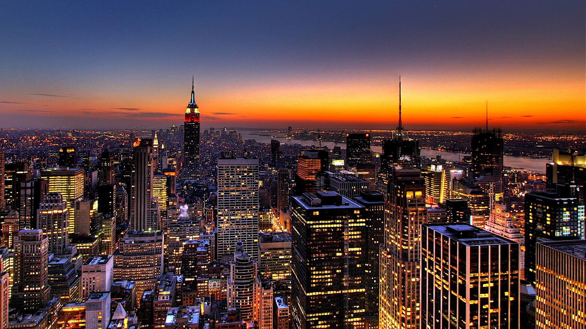 New York City Night Wallpaper – WallpapersDB