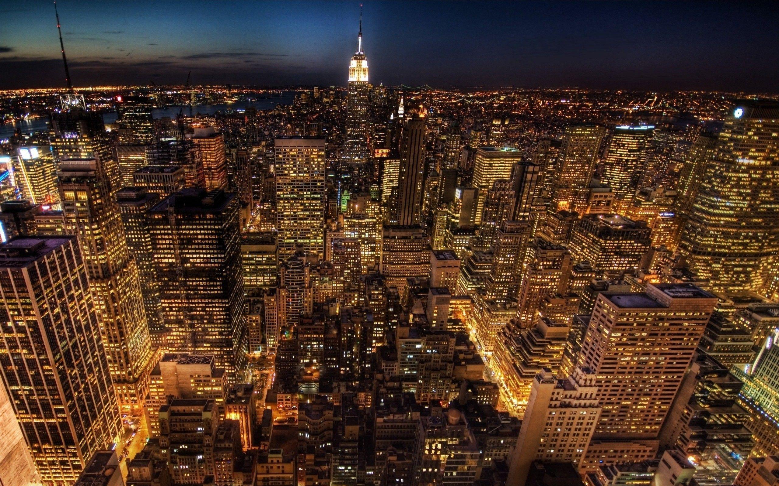 New York City Wallpaper At Night – wallpaper.