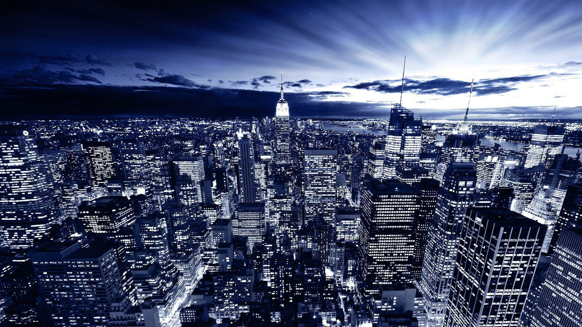 New York City At Night HD Wallpapers