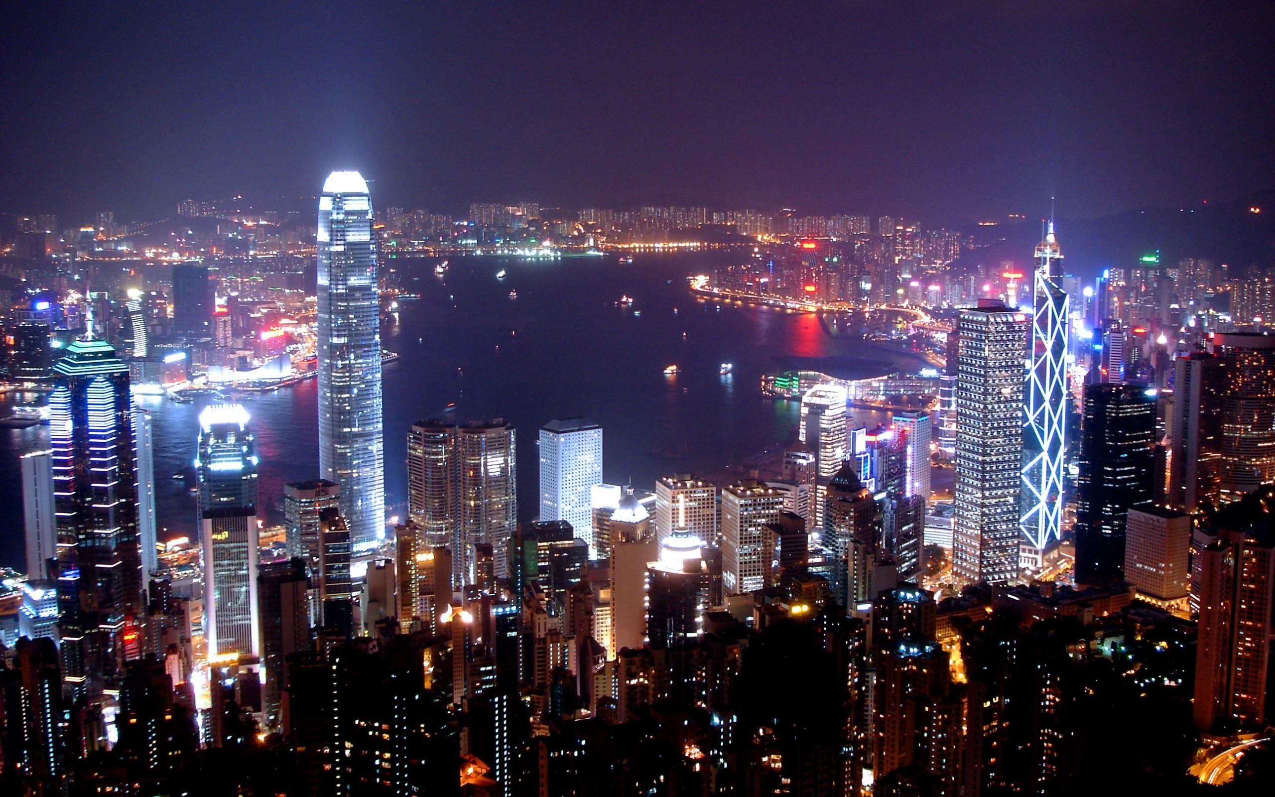 Manhattan New York City at Night