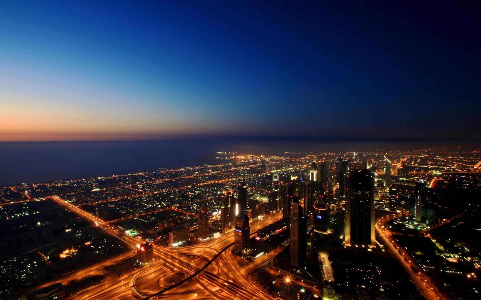 Dubai City Desktop Wallpaper
