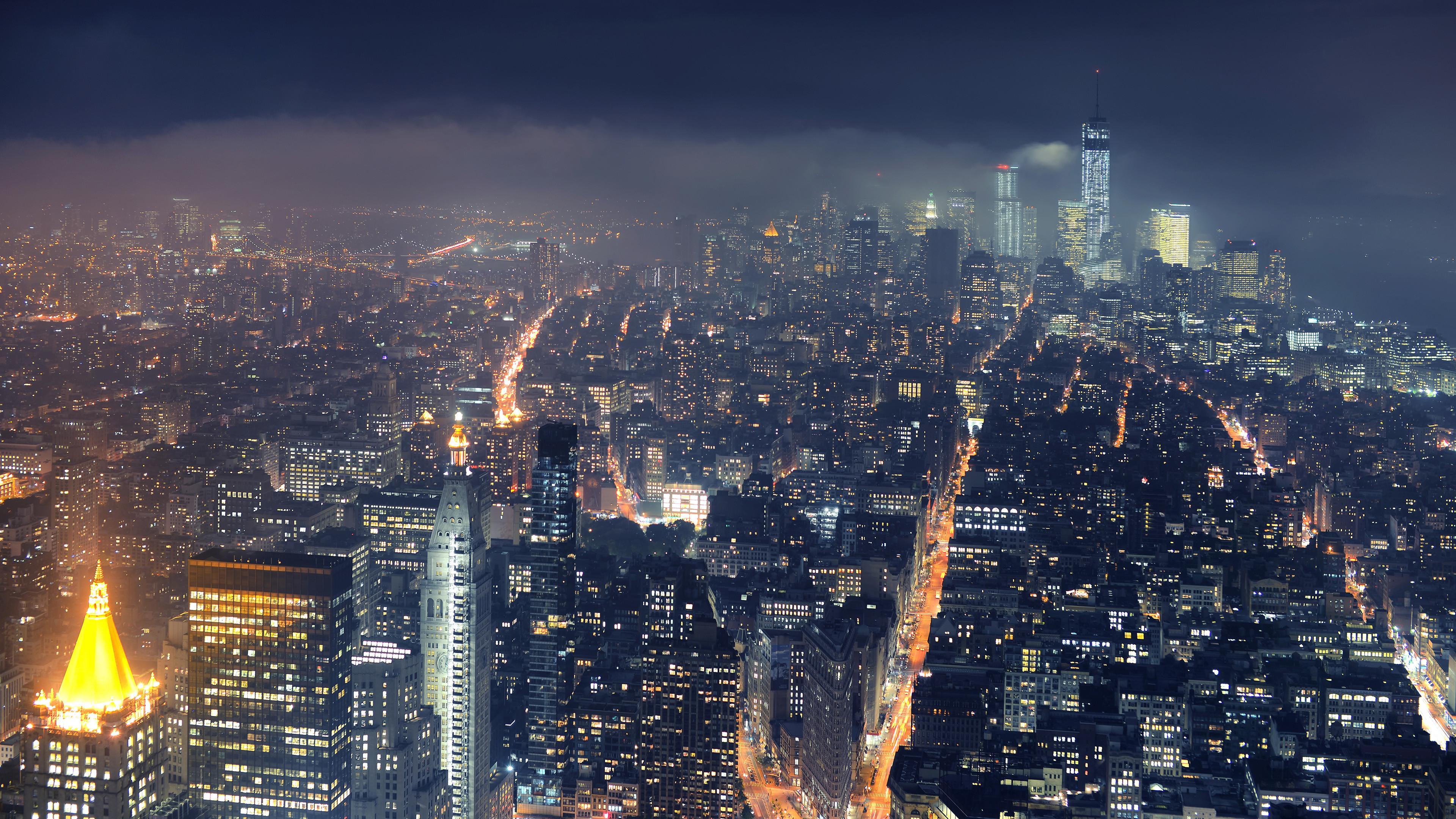 High-resolution desktop wallpaper Gotham City by Dominic Kamp