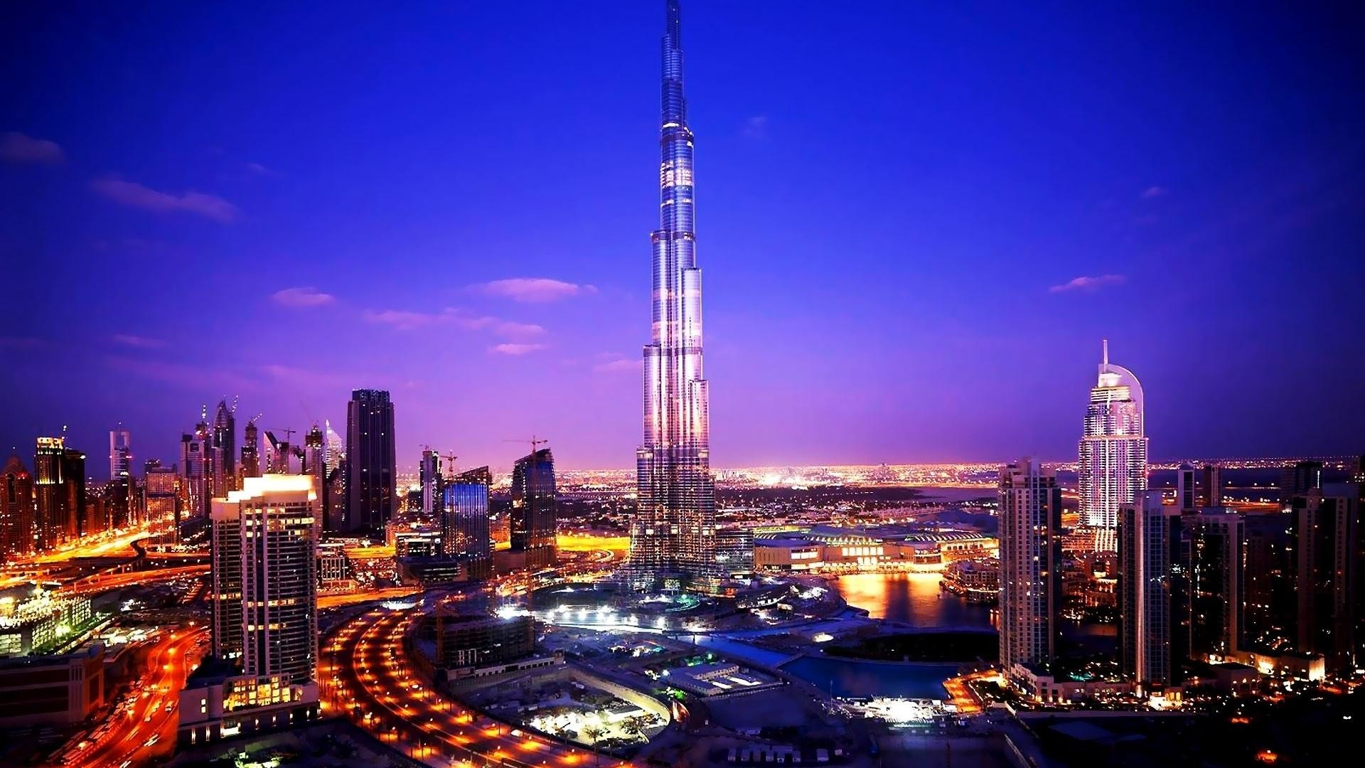 Dubai City Desktop Background