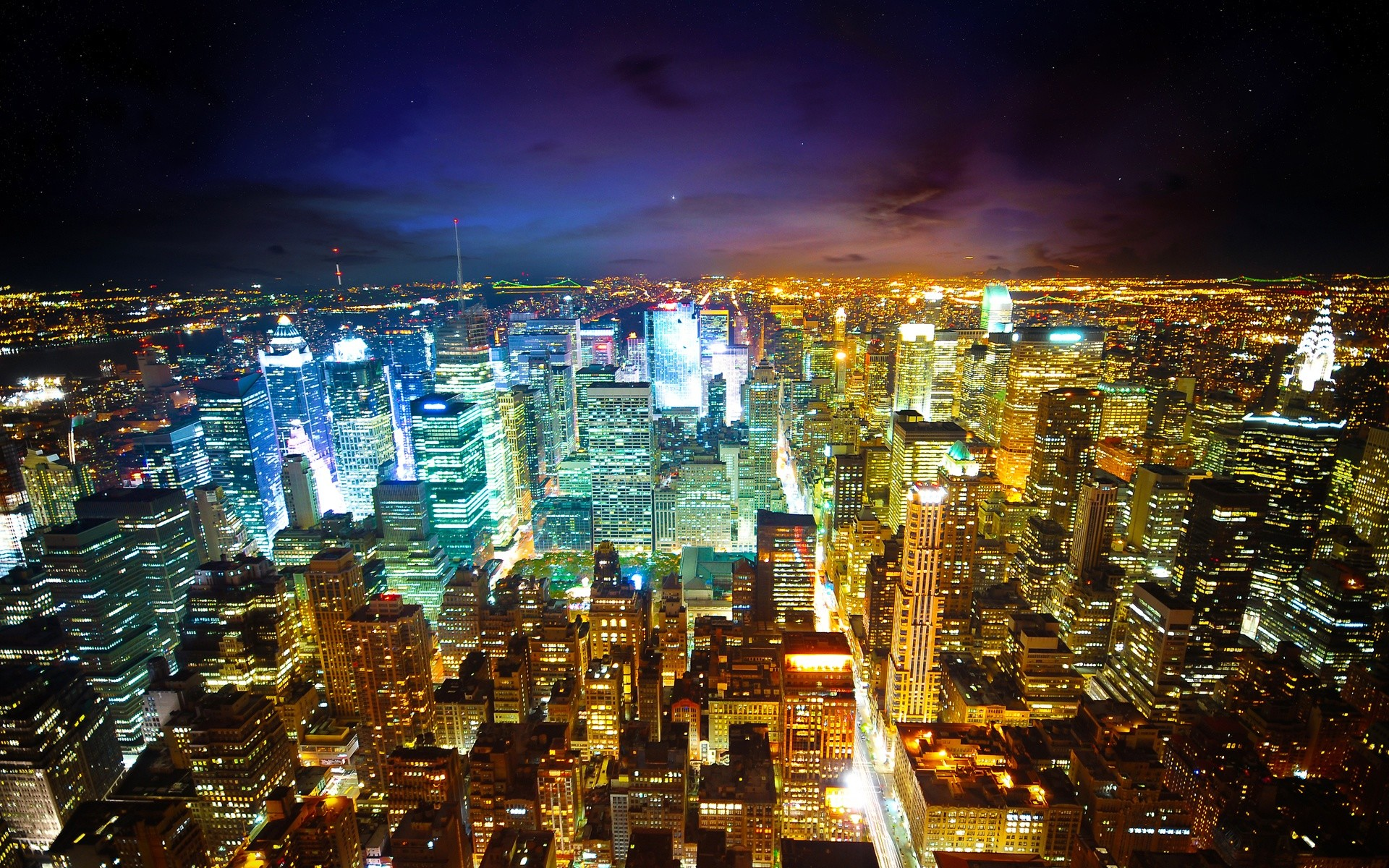 Paris The Illuminated City HD Desktop Wallpaper