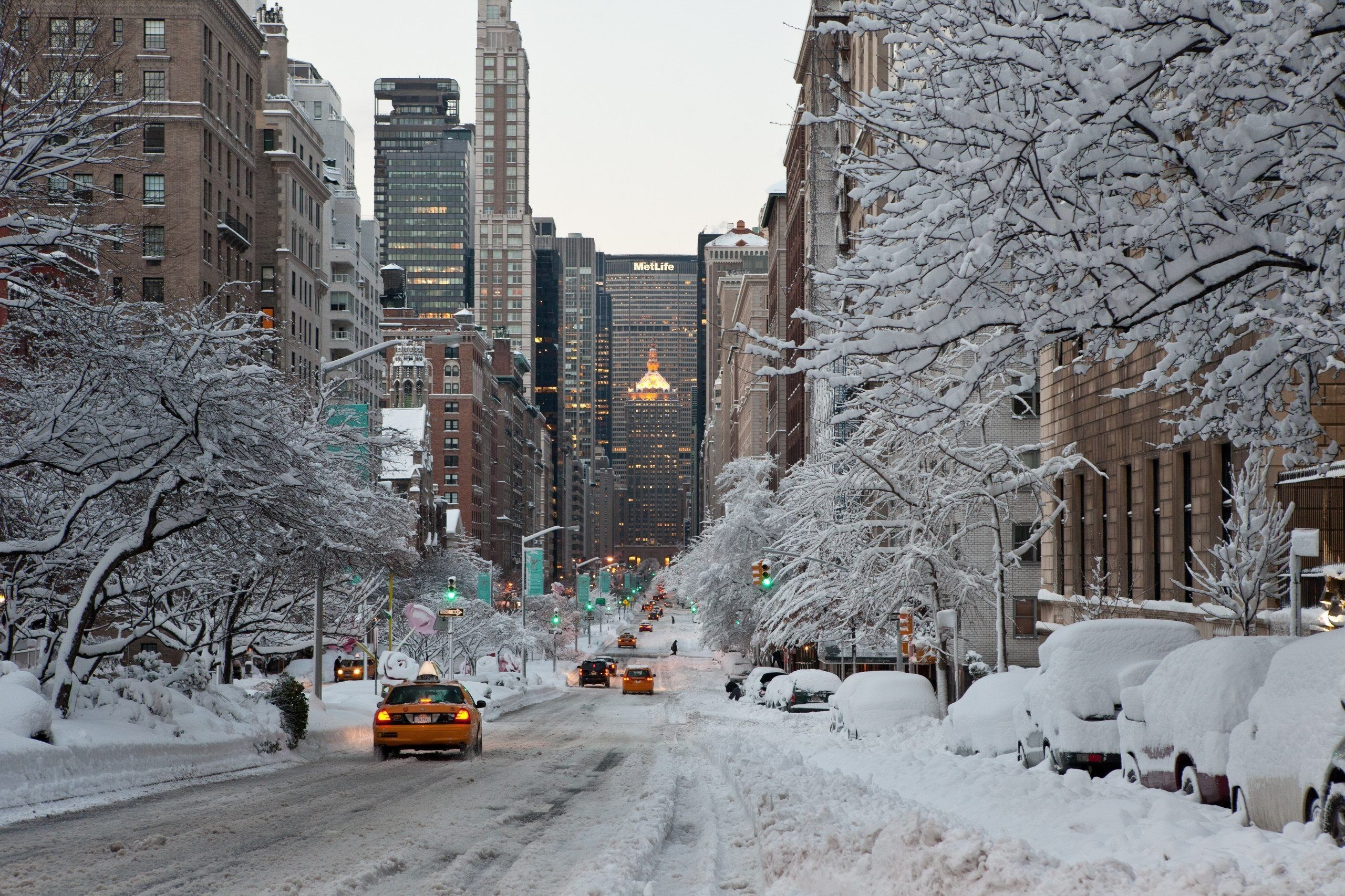 Winter in new york city wallpaper | Wallpaper Wide HD