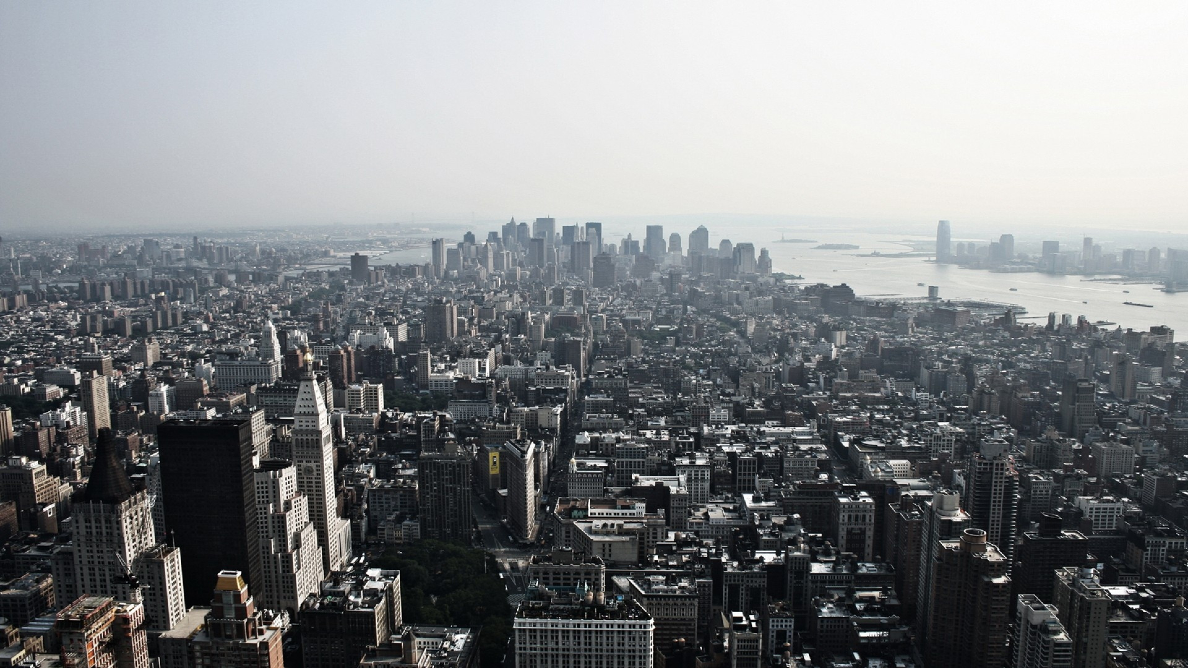 new york , usa , top view , building