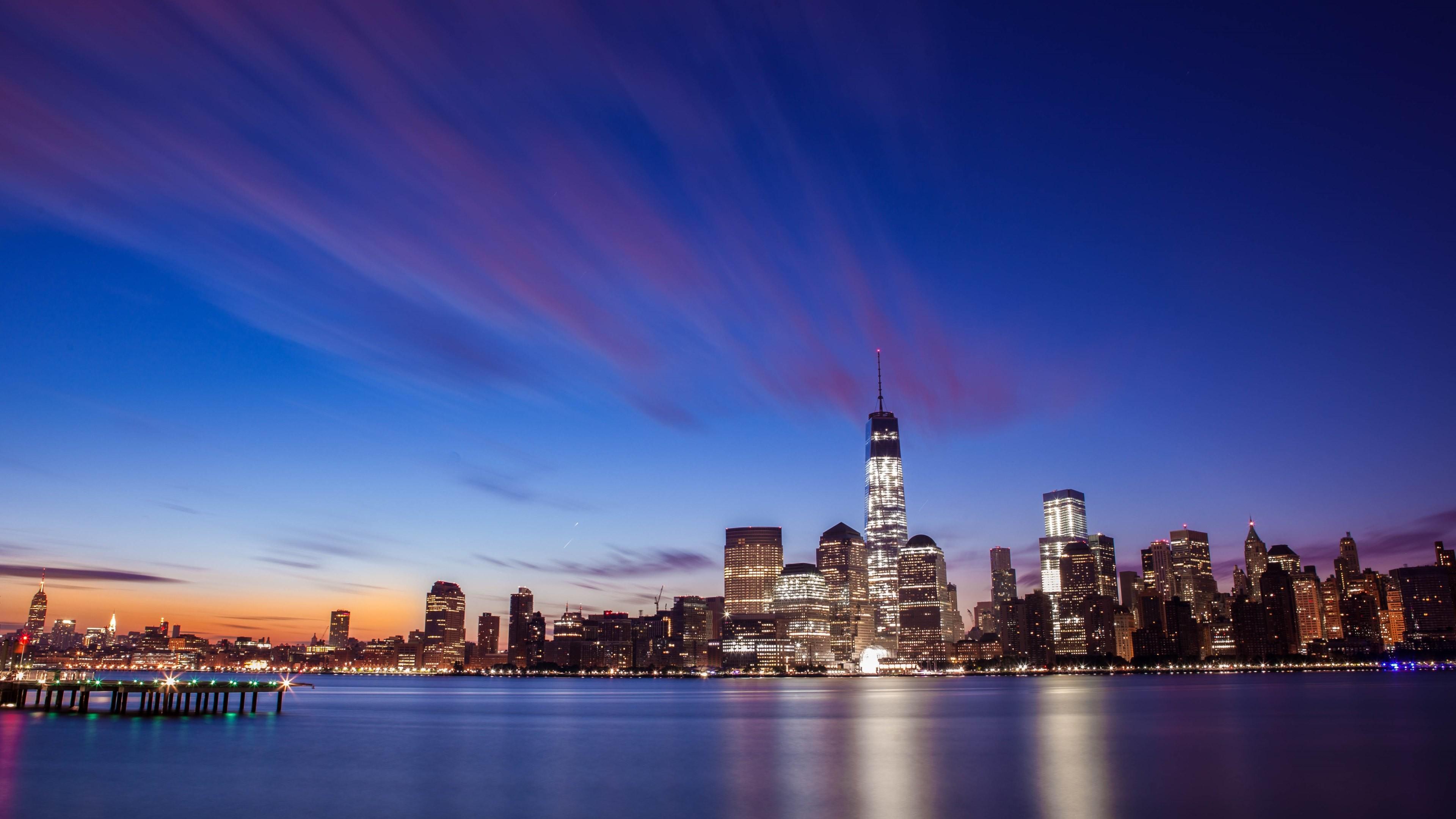 Wallpaper: New York City Skyline Sunrise