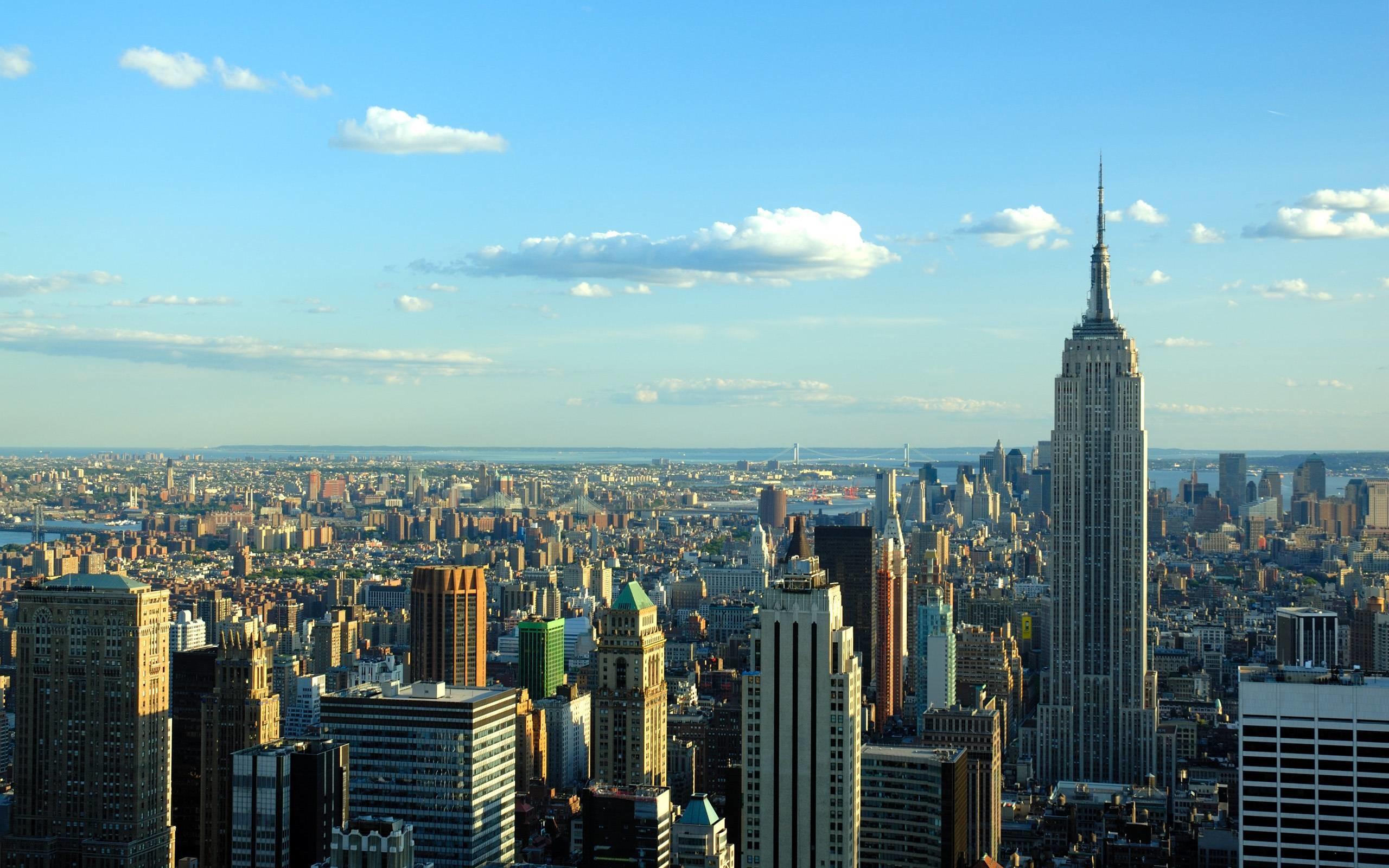 New York City Skyline Desktop Background #7776 | Frenzia.