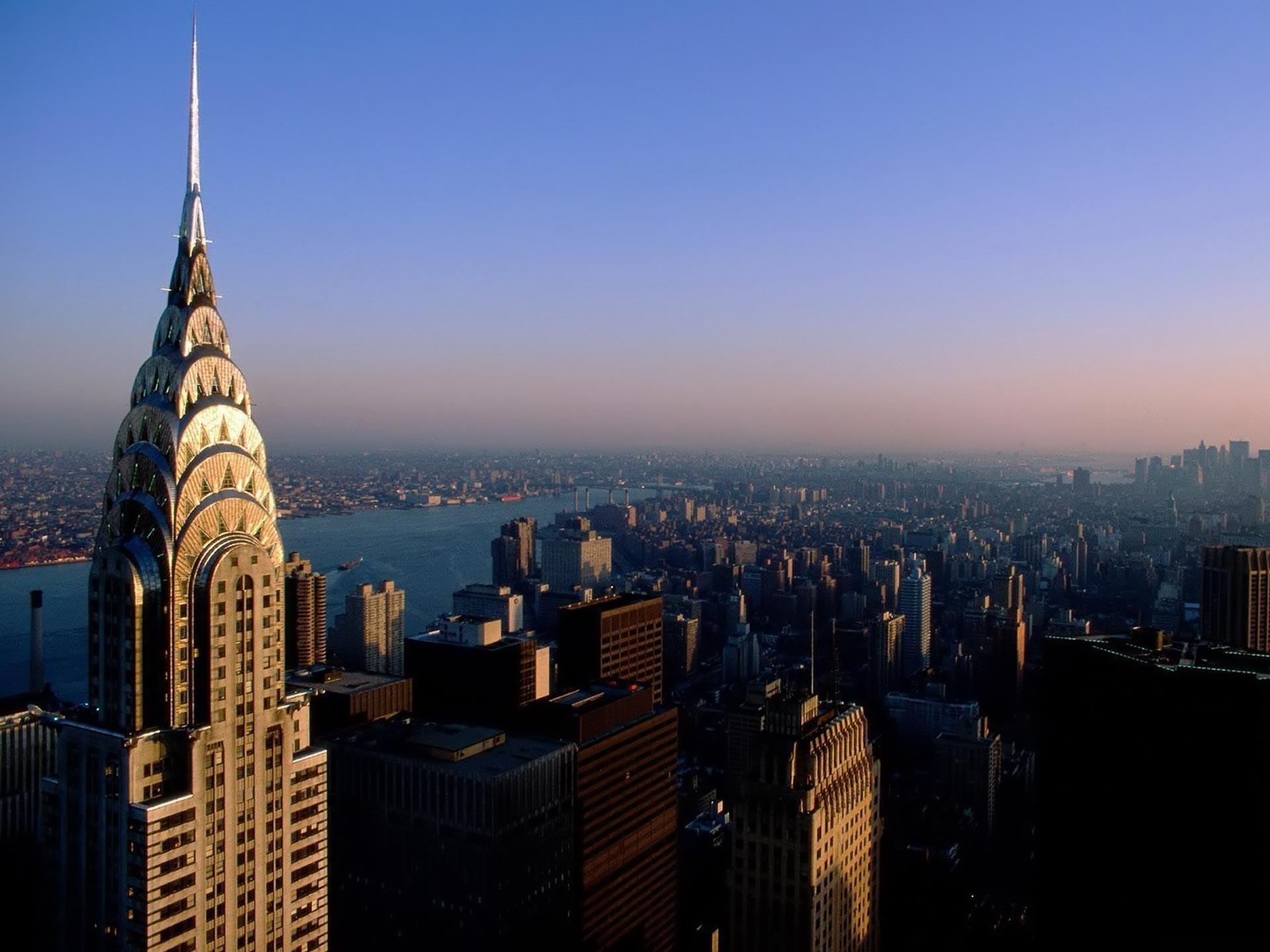 Chrysler Building NYC New York City Skyline Cityscape America Travel Print  Poster Gift