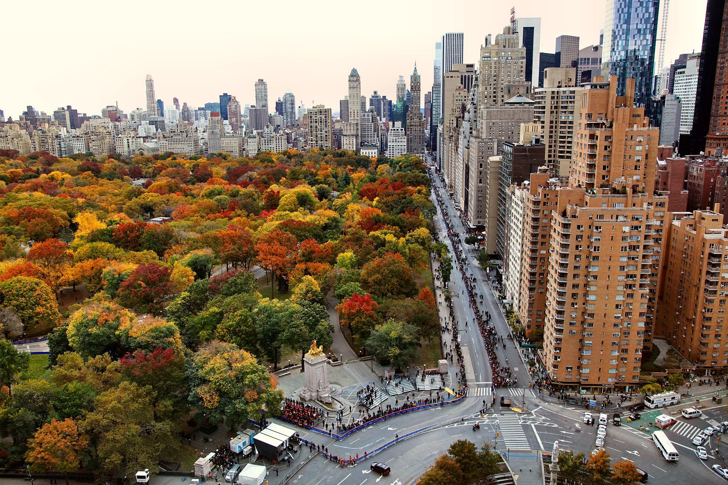 Central Park, Manhattan, New York Desktop Background