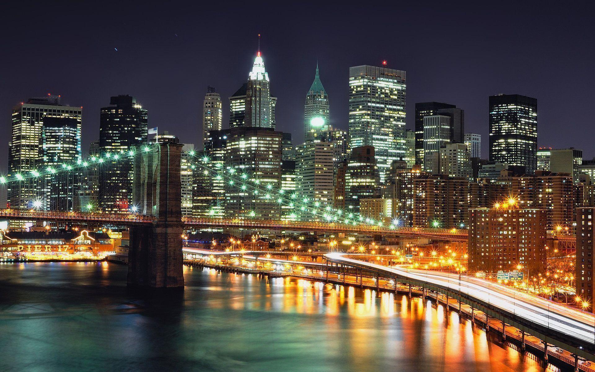New York City Wallpaper Desktop Background #8590 | Hdwidescreens.