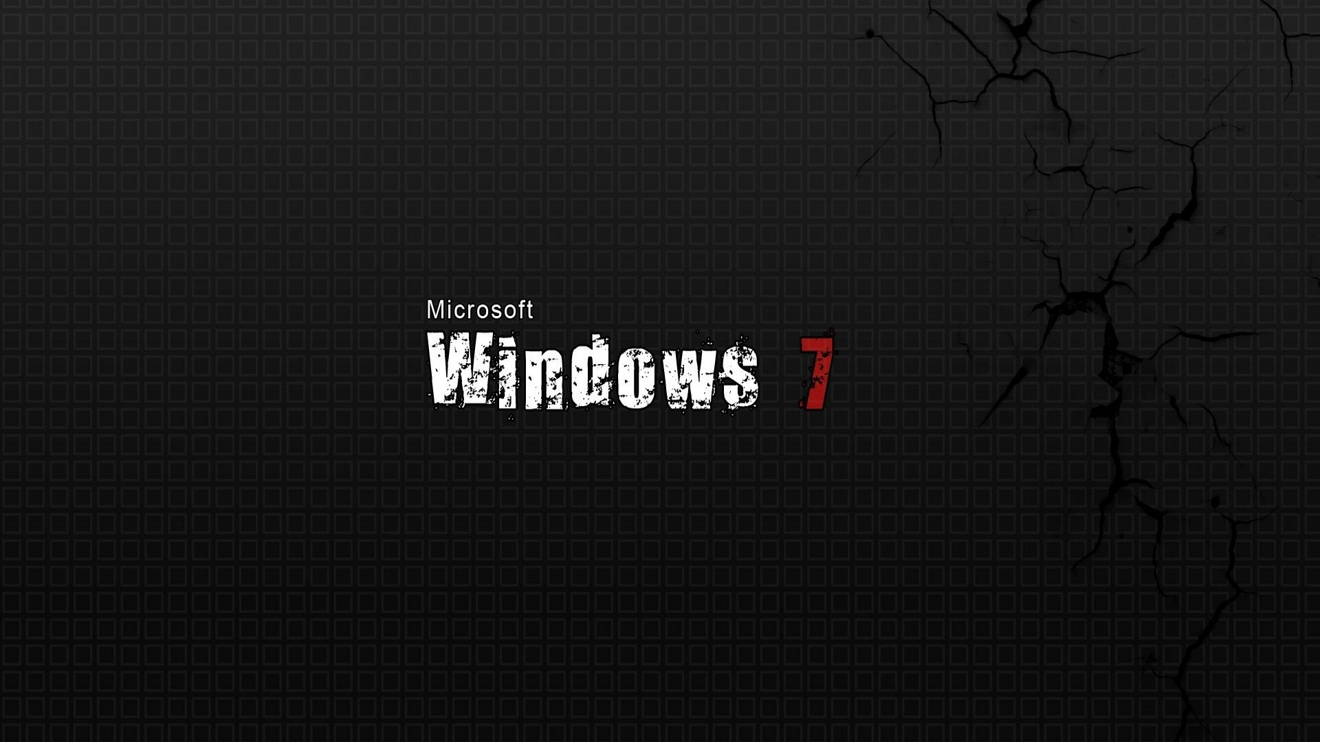 Wallpaper windows 7, white, black, red