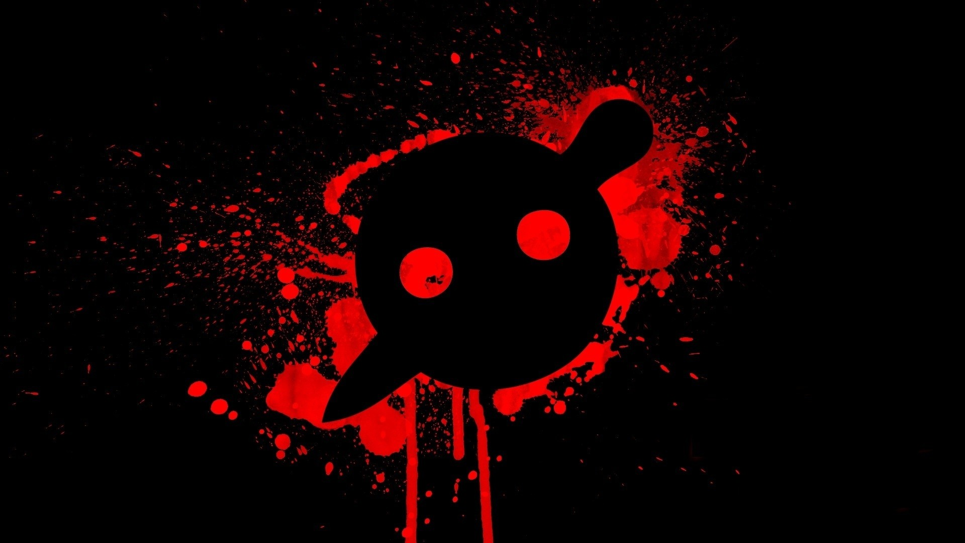 black music red simple knife party electronic music wallpaper  Wallpaper HD