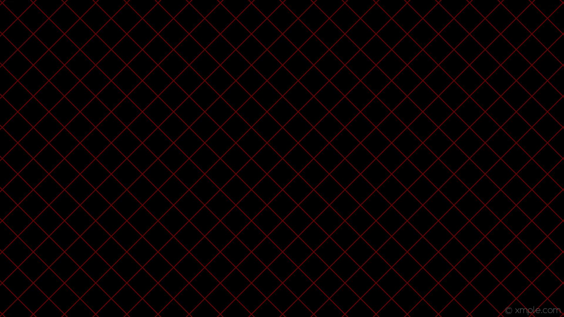 wallpaper black red graph paper grid dark red #000000 #8b0000 45° 3px 75px