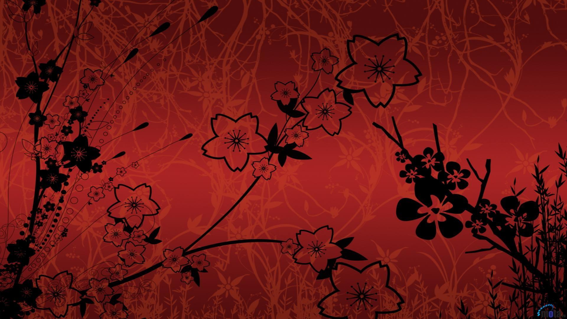 Black and Red 1080p Wallpaper – WallpaperSafari