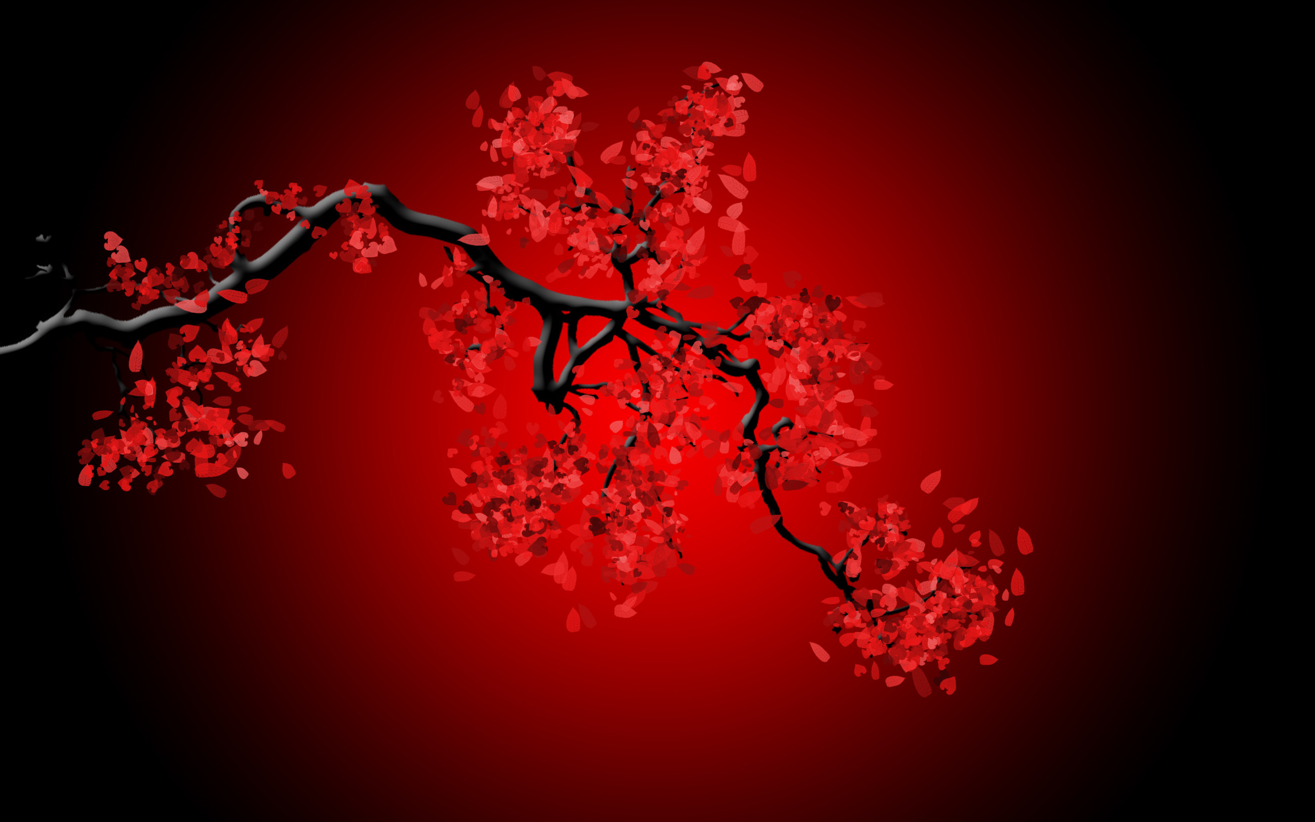 <b>RED</b> TREES NATURE LEAVES <b>DESKTOP BACKGROUND
